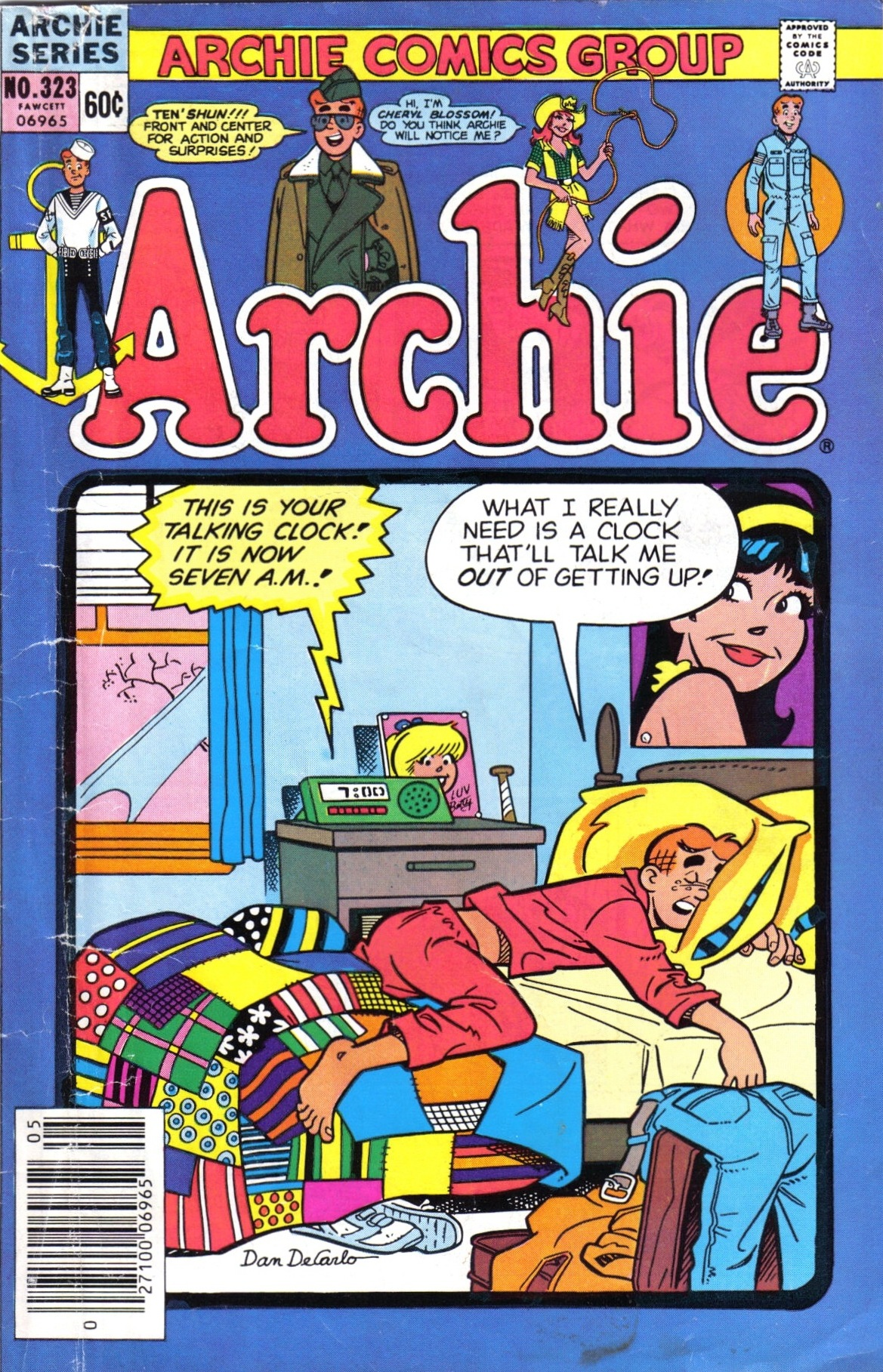 Read online Archie (1960) comic -  Issue #323 - 1