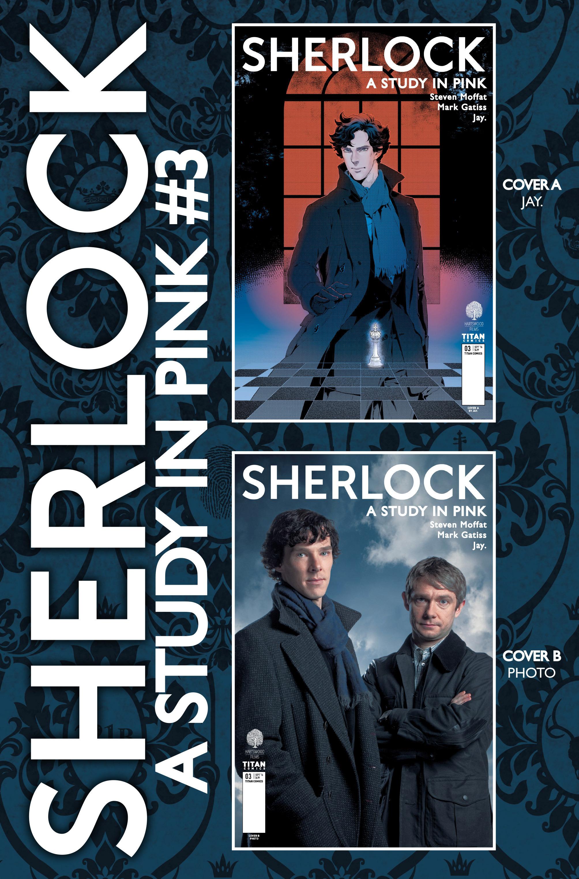 Read online Sherlock: A Study In Pink comic -  Issue #3 - 38