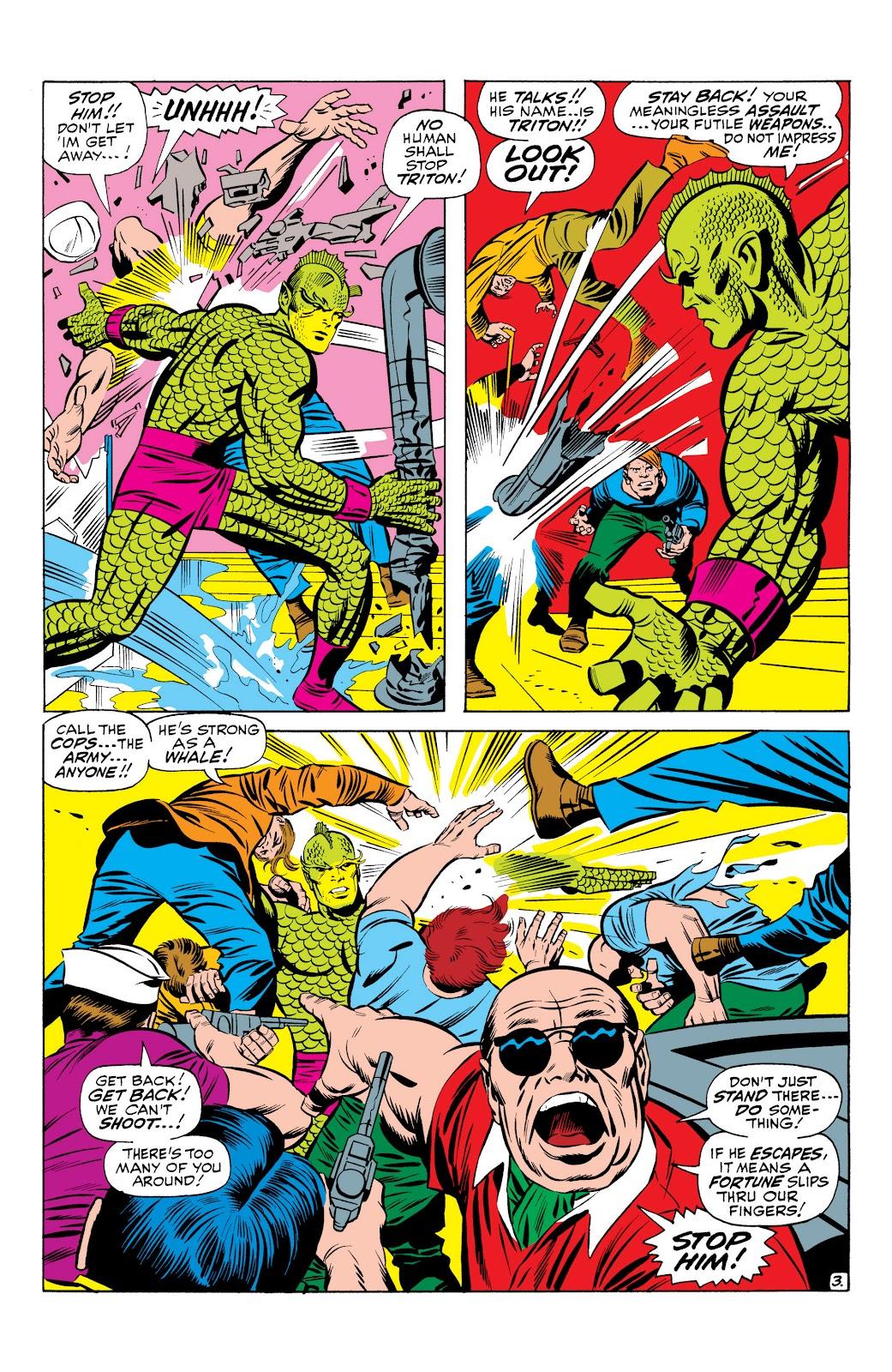 Read online Marvel Masterworks: The Inhumans comic -  Issue # TPB 1 (Part 1) - 35