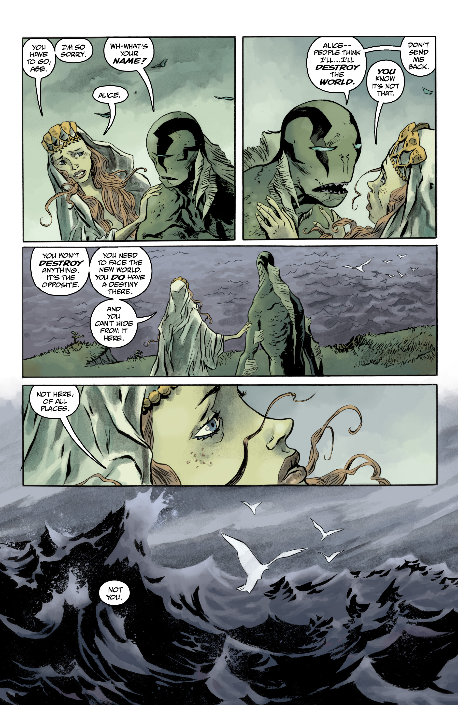 Read online Abe Sapien comic -  Issue #35 - 18