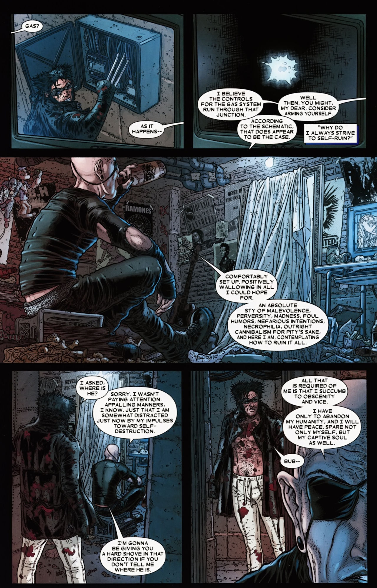 Read online Wolverine: The Best There Is comic -  Issue #6 - 6