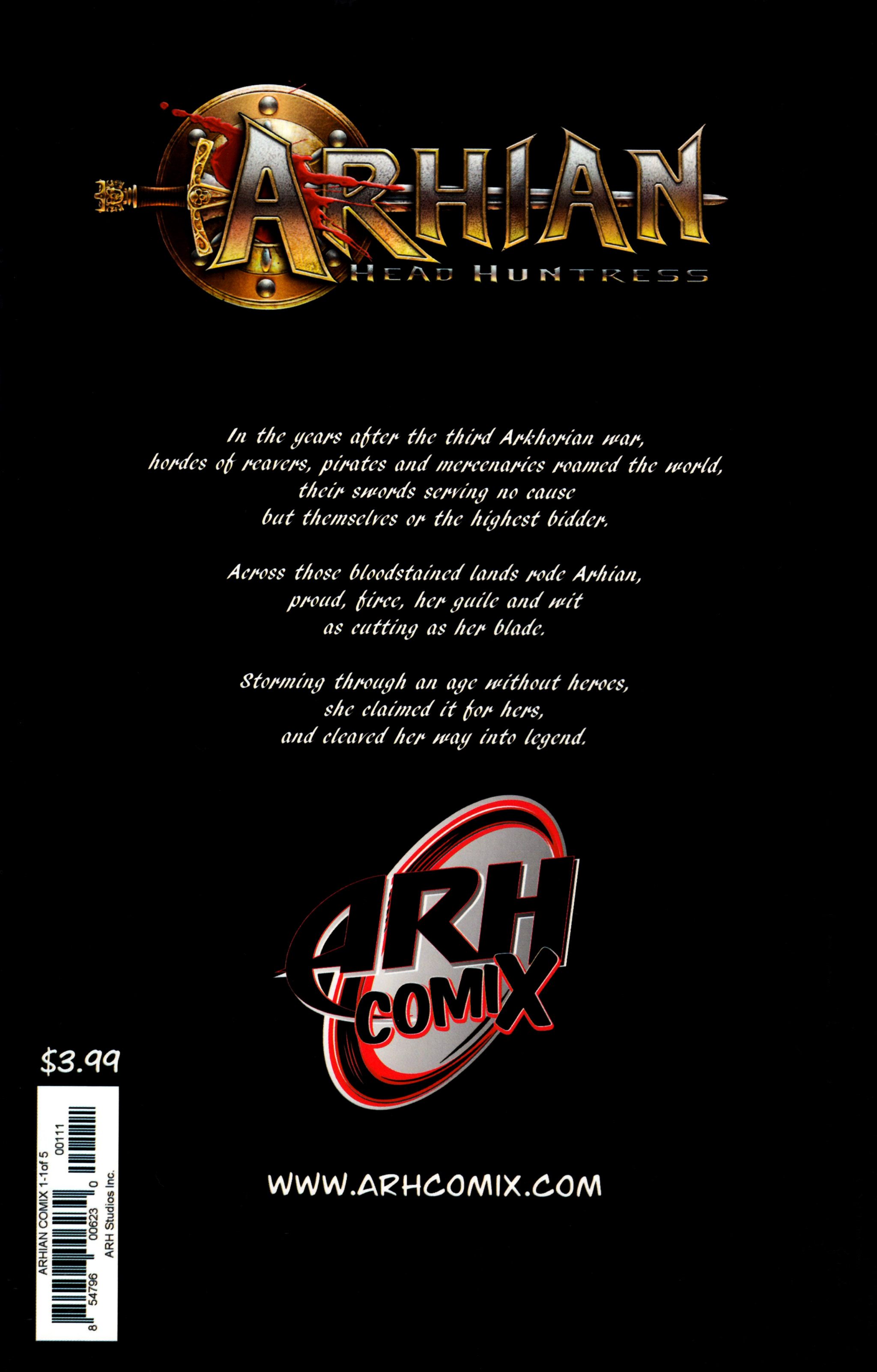 Read online Arhian: Head Huntress comic -  Issue #1 - 36