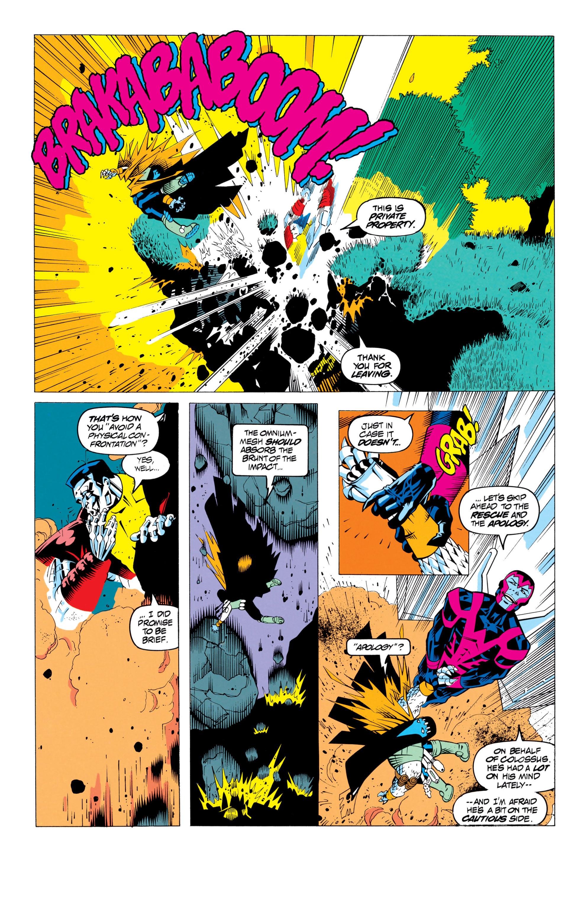 Read online Uncanny X-Men (1963) comic -  Issue # _Annual 17 - 29
