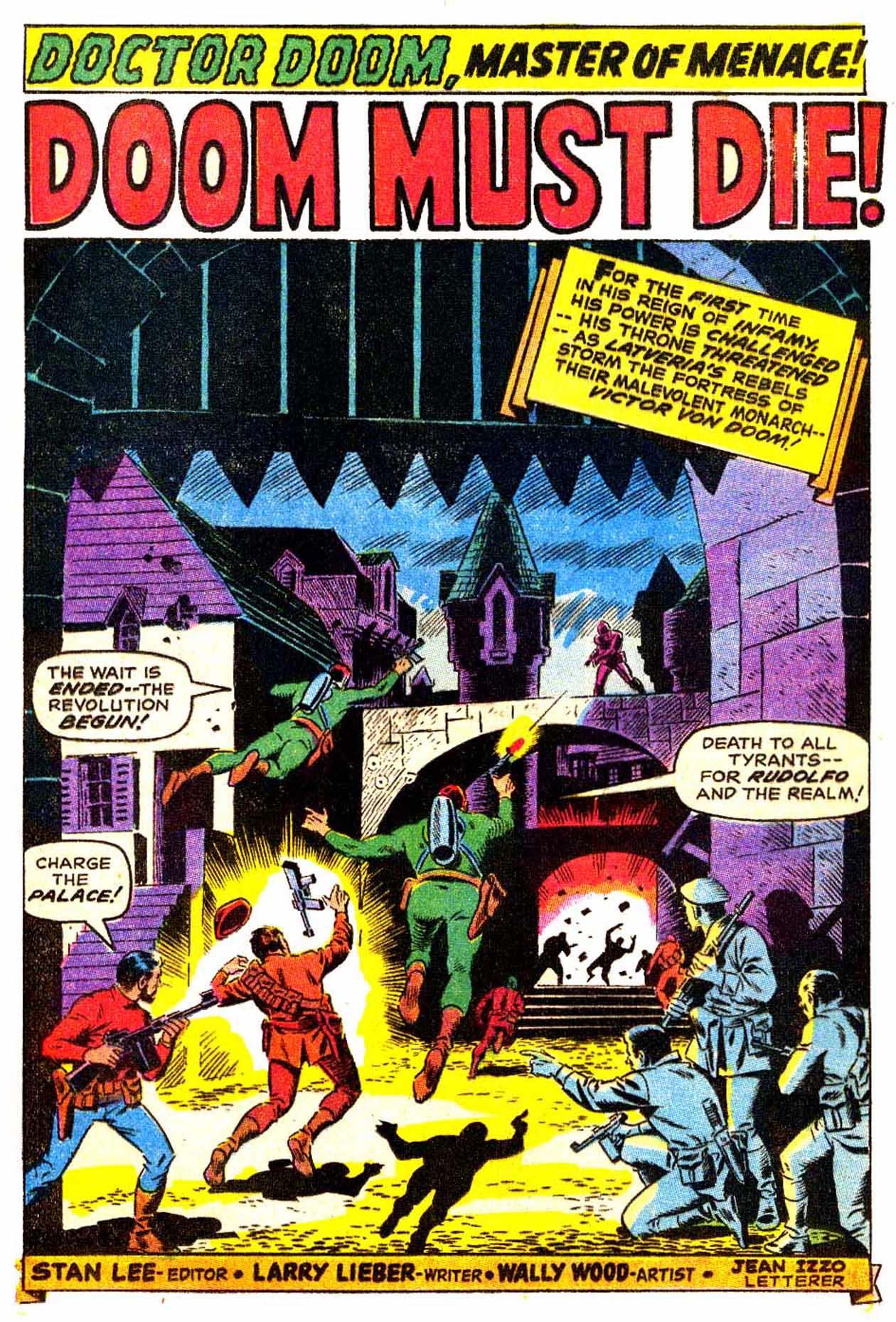 Read online Astonishing Tales (1970) comic -  Issue #3 - 2