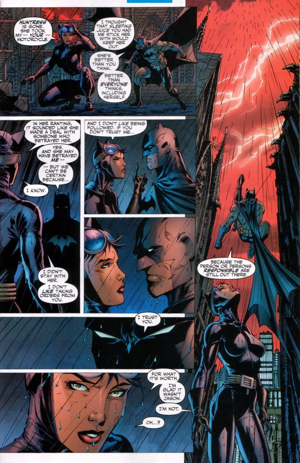 Read online Batman: Hush comic -  Issue #11 - 18