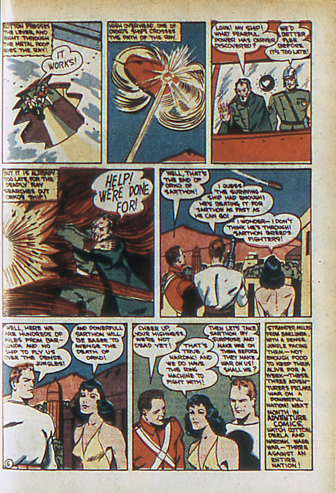 Read online Adventure Comics (1938) comic -  Issue #61 - 54