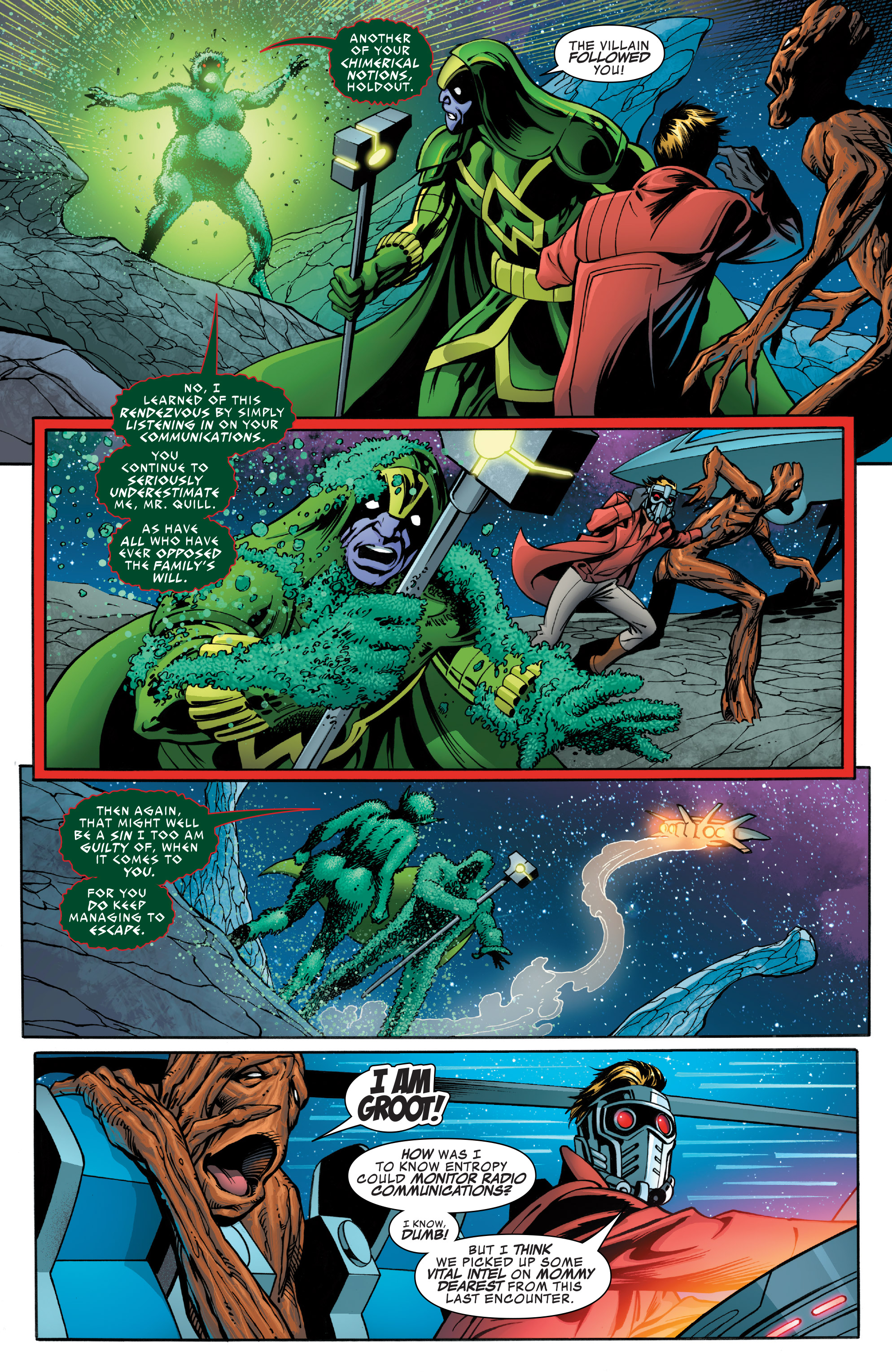 Read online Guardians of the Galaxy: Mother Entropy comic -  Issue #4 - 16