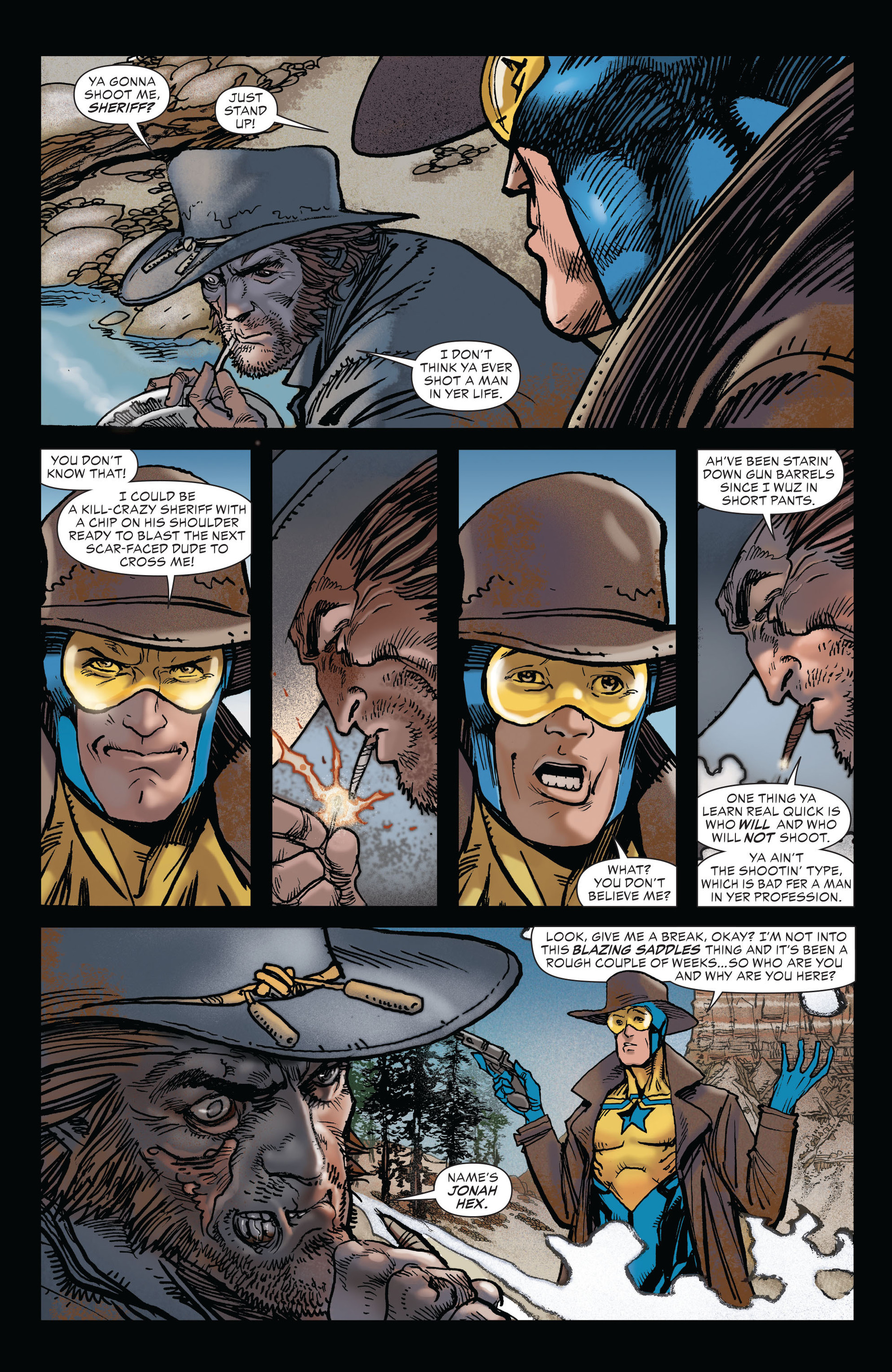 Read online All-Star Western (2011) comic -  Issue #19 - 4