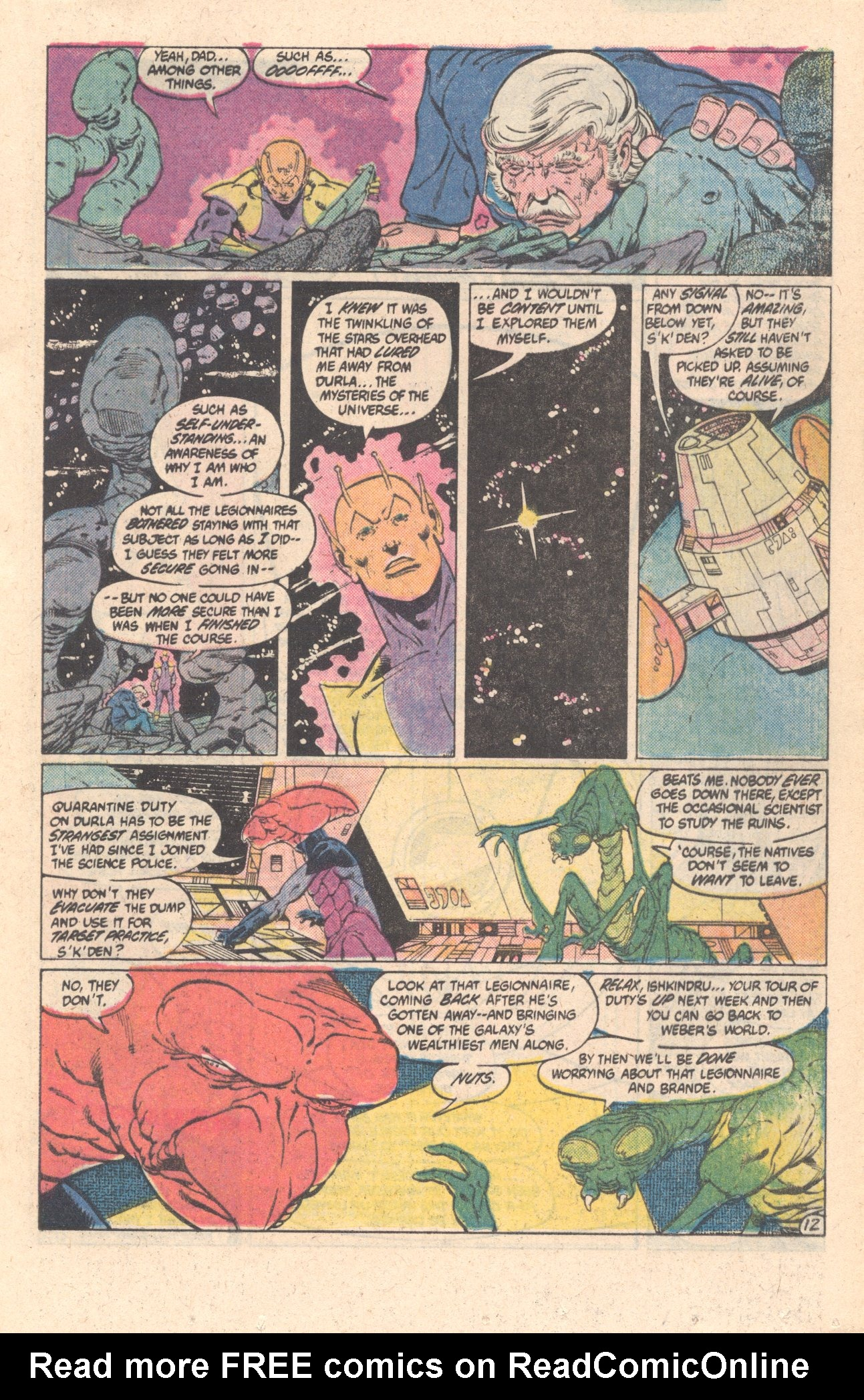 Legion of Super-Heroes (1980) 301 Page 12