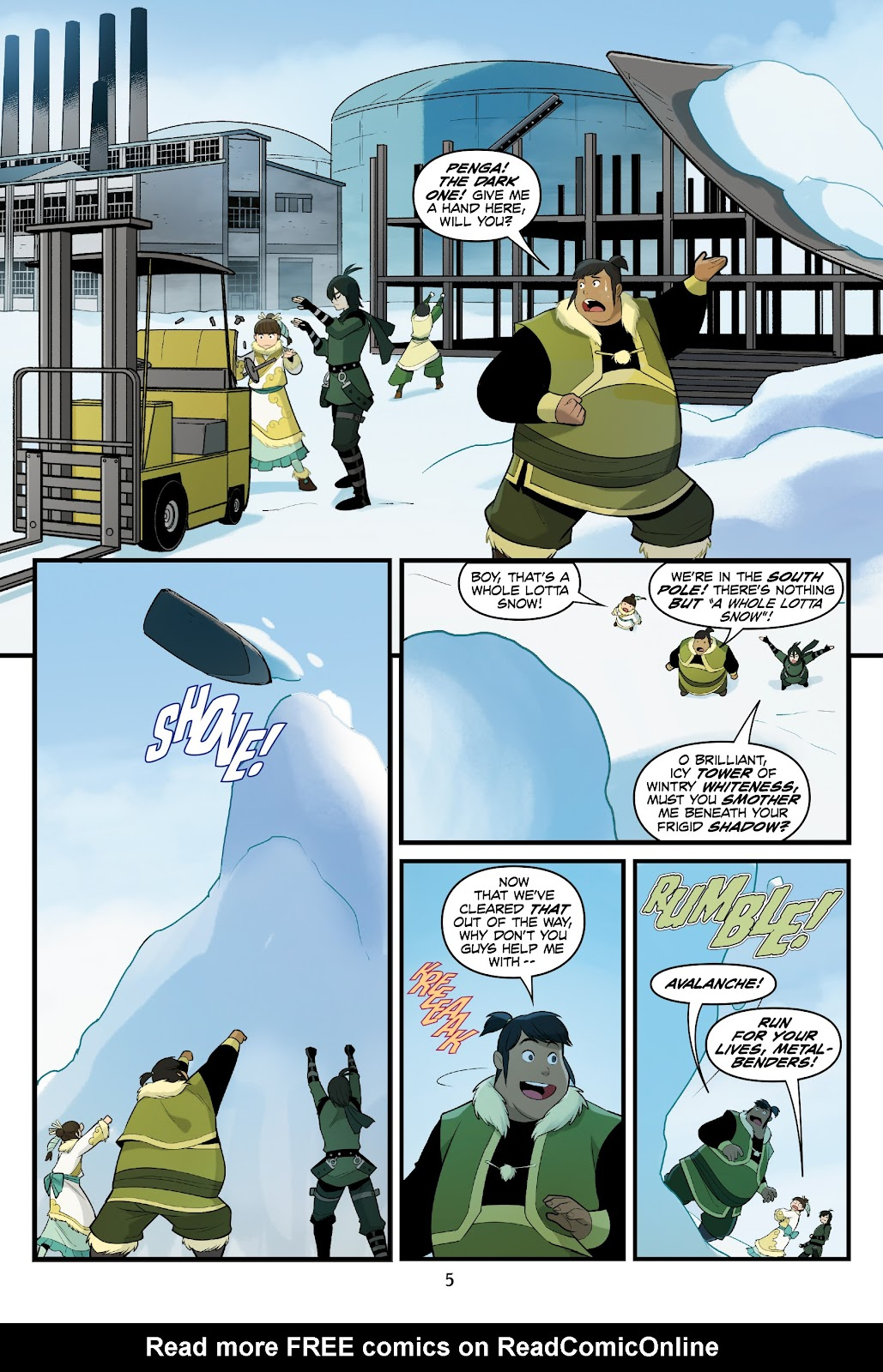 Nickelodeon Avatar: The Last Airbender - North and South issue 3 - Page 6