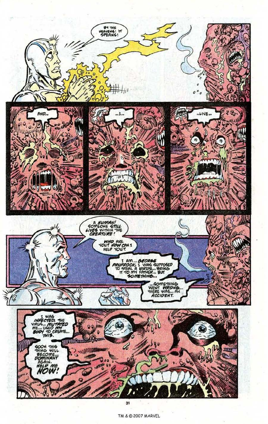 Read online Silver Surfer (1987) comic -  Issue # _Annual 3 - 33