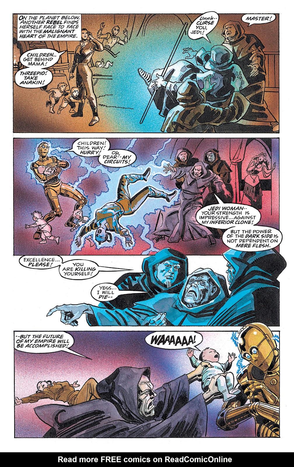 Read online Star Wars: Dark Empire Trilogy comic -  Issue # TPB (Part 4) - 48