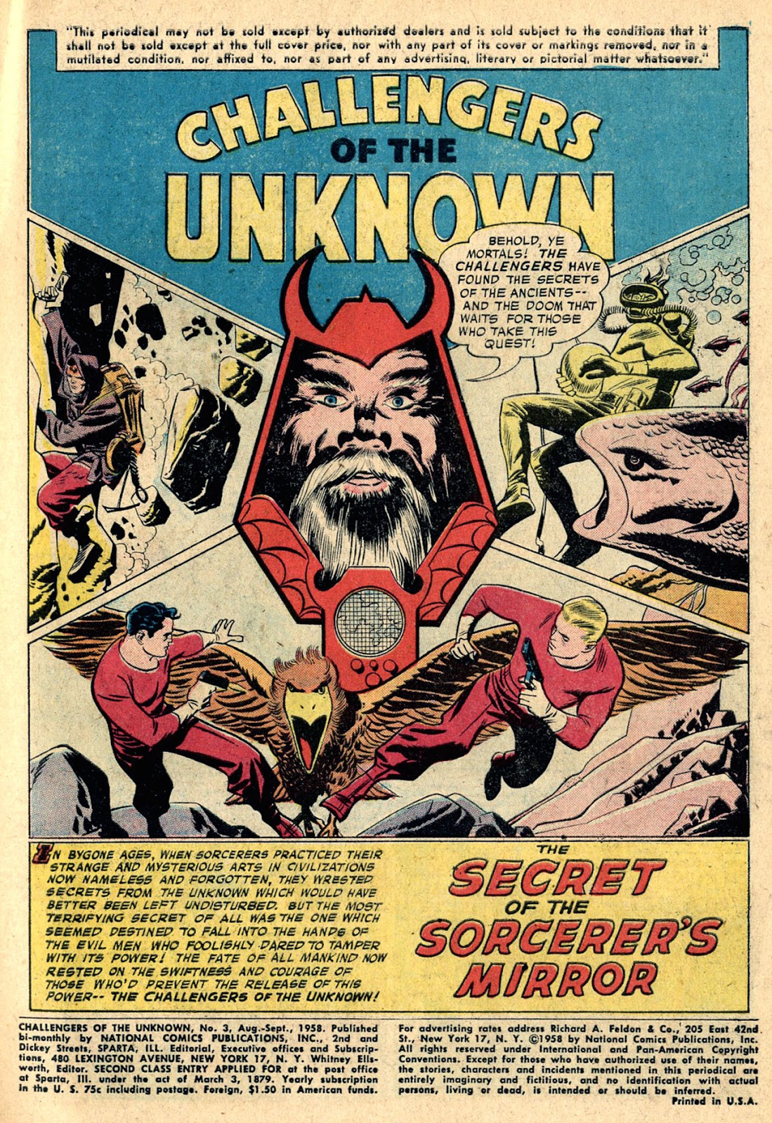 Challengers of the Unknown (1958) issue 3 - Page 3