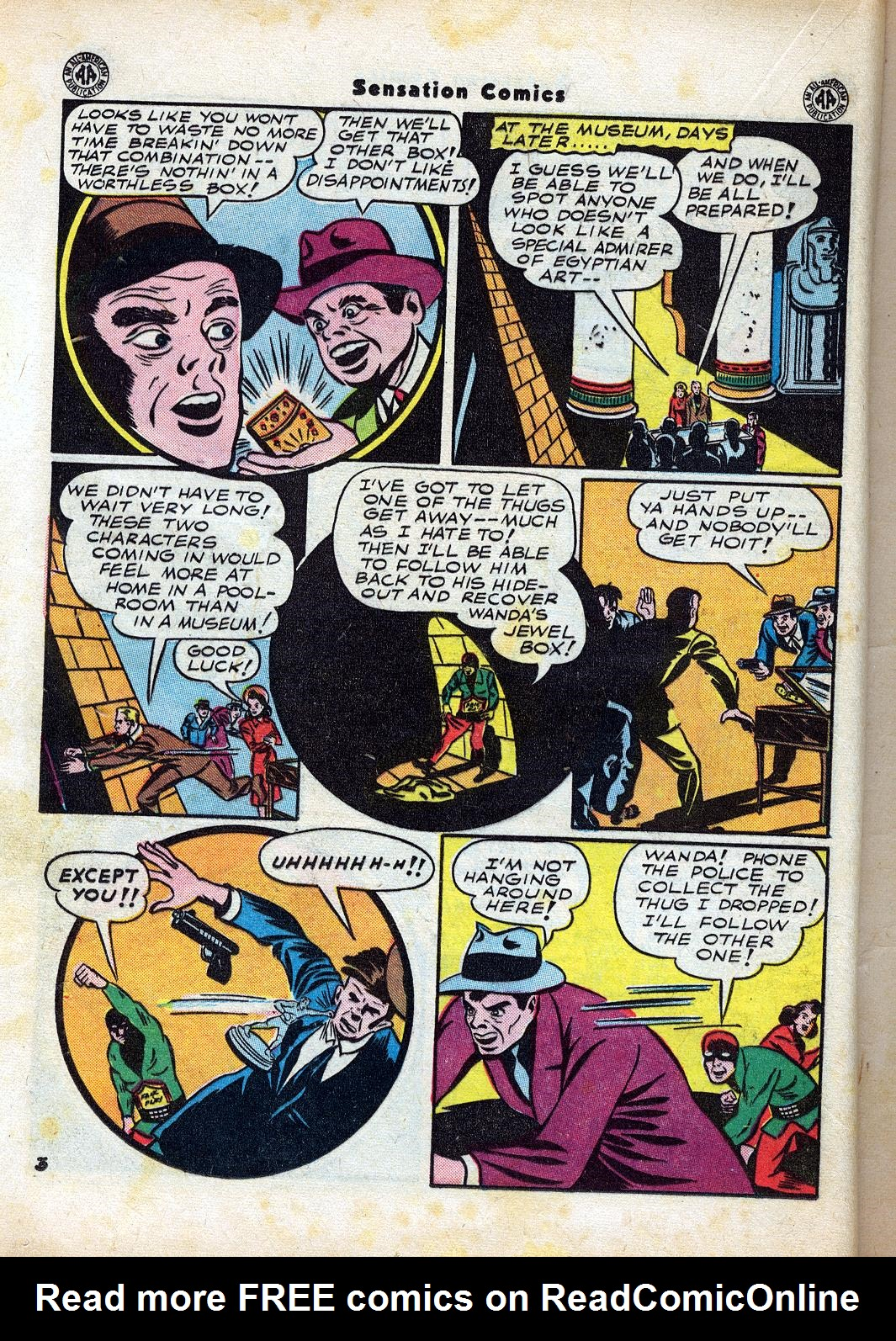 Read online Sensation (Mystery) Comics comic -  Issue #47 - 28