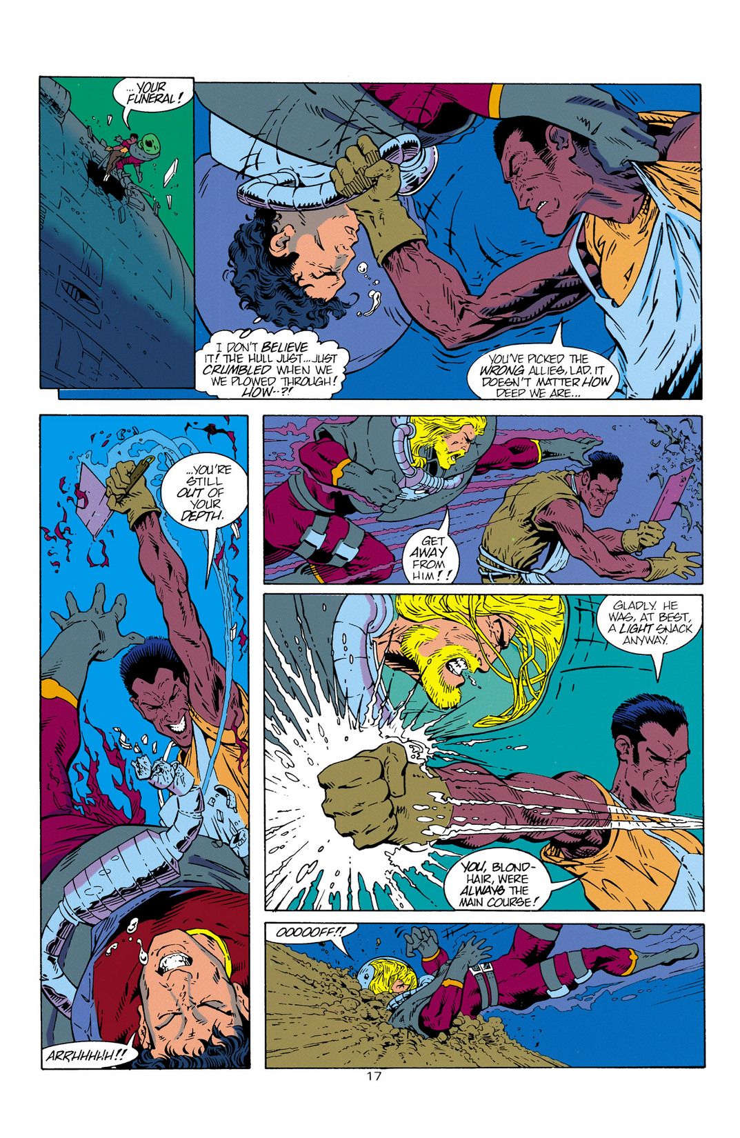 Read online Aquaman (1994) comic -  Issue #1 - 18