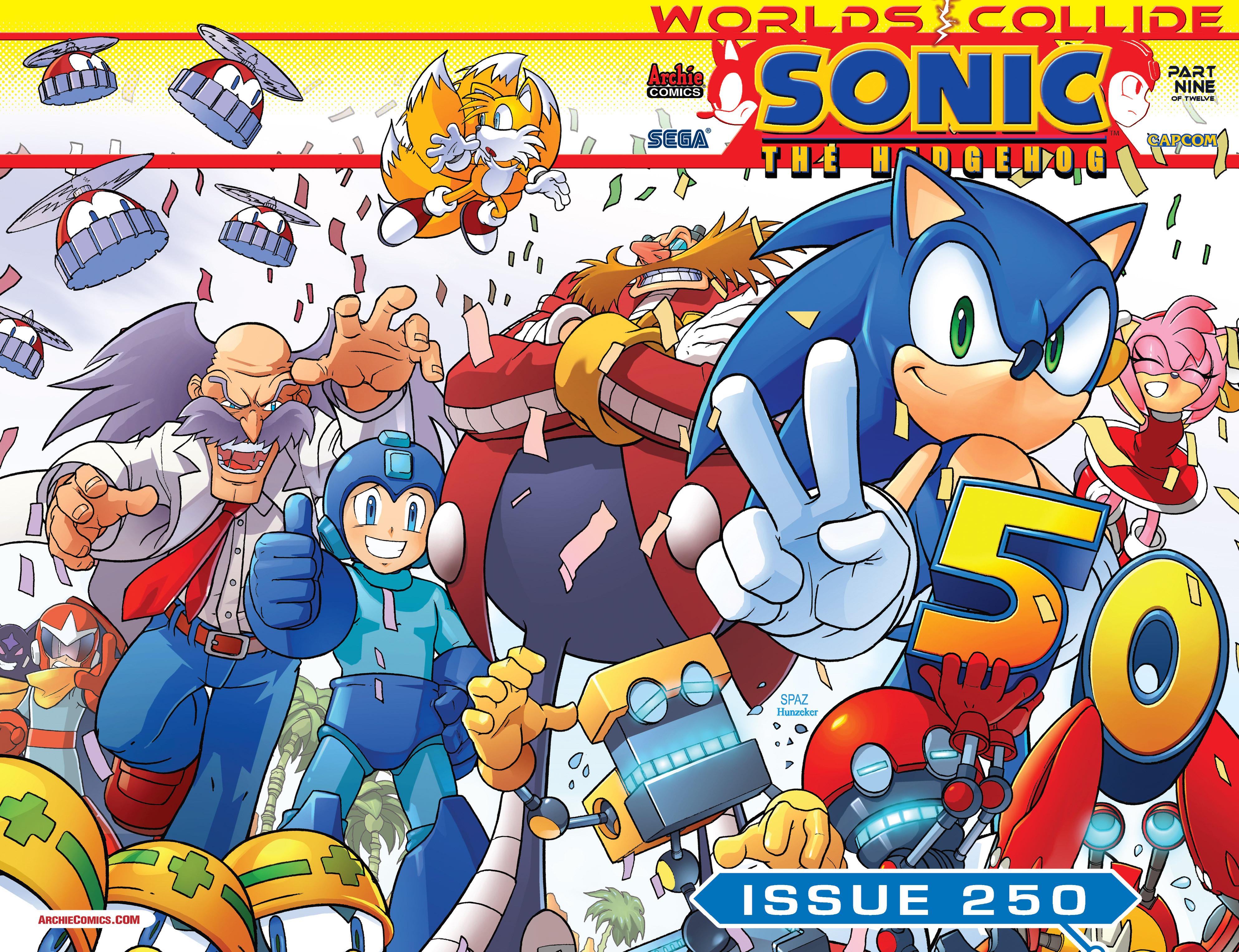 Read online Sonic Mega Man Worlds Collide comic -  Issue # Vol 3 - 9