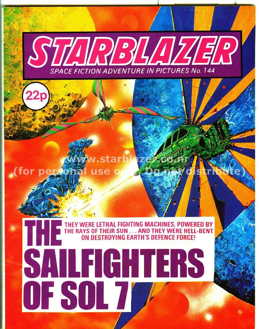Starblazer issue 144 - Page 1