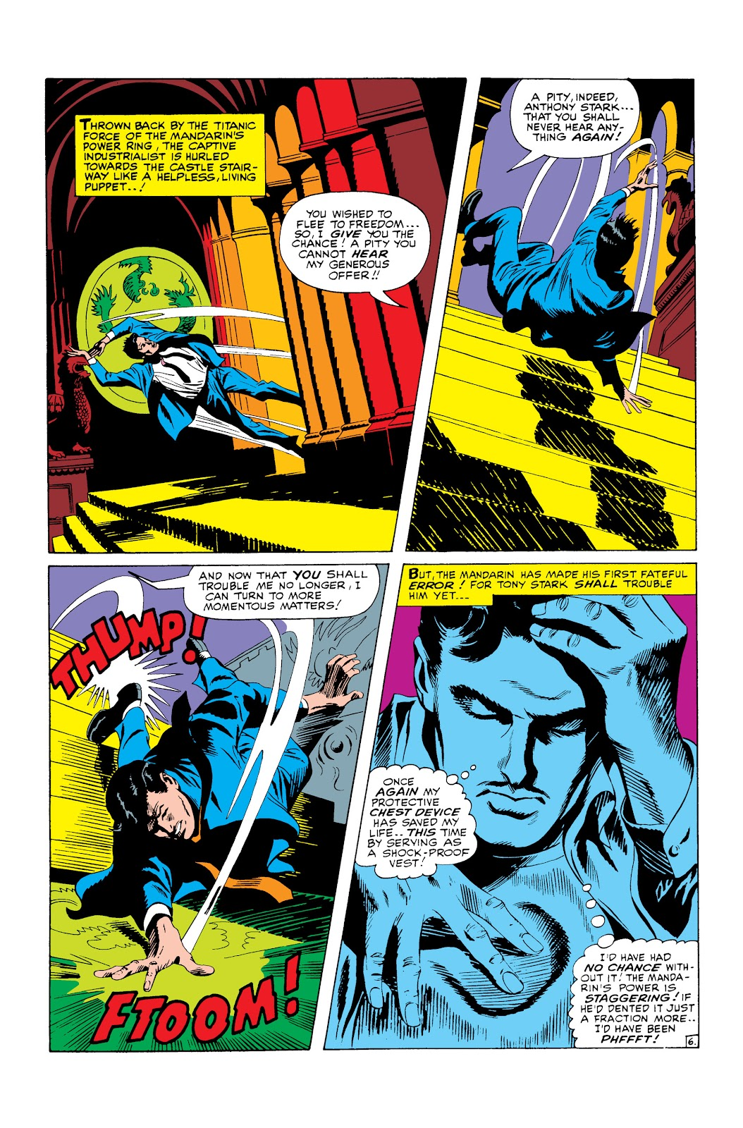 Read online Marvel Masterworks: The Invincible Iron Man comic -  Issue # TPB 3 (Part 3) - 62