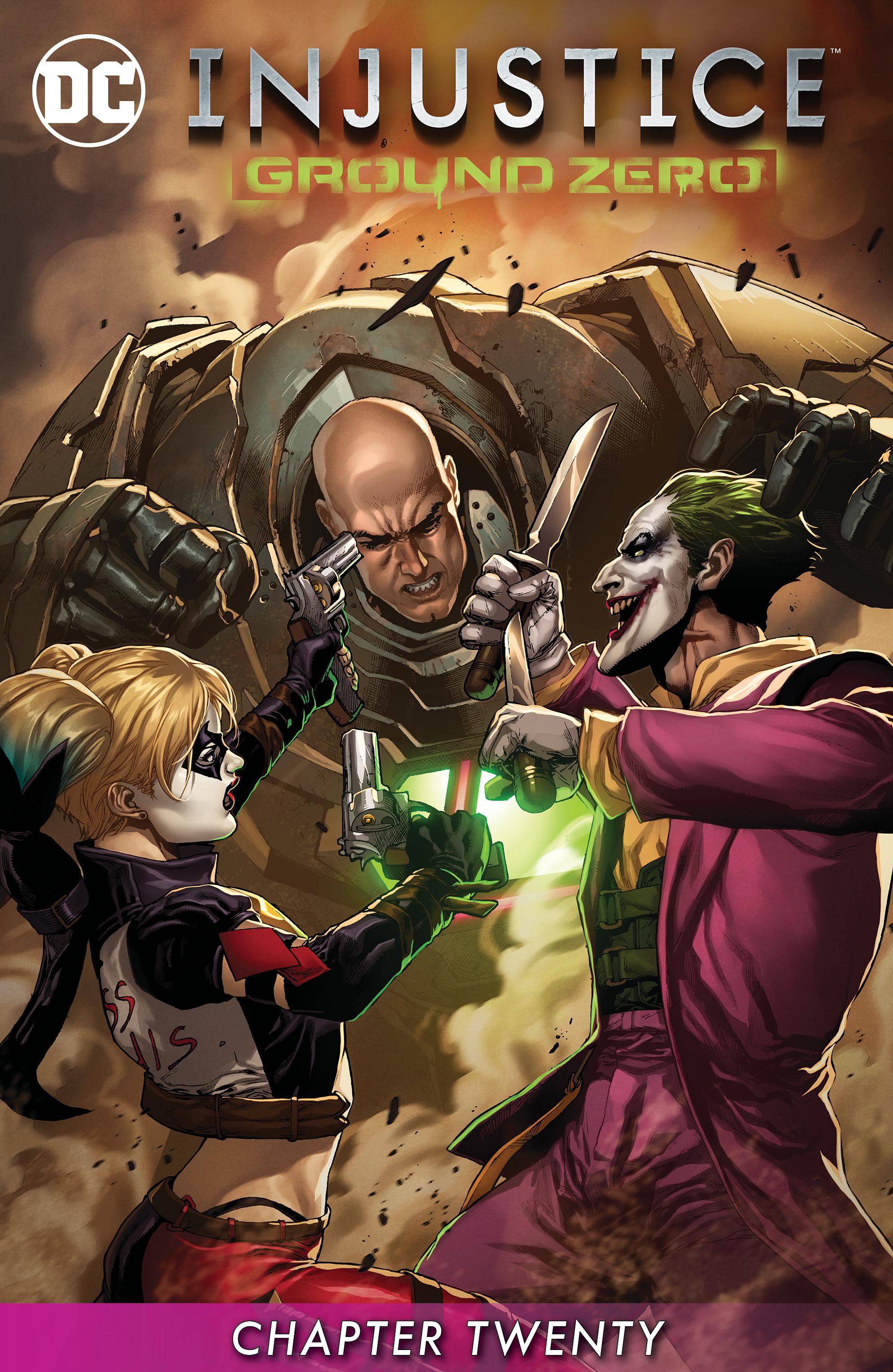 Read online Injustice: Ground Zero comic -  Issue #20 - 2