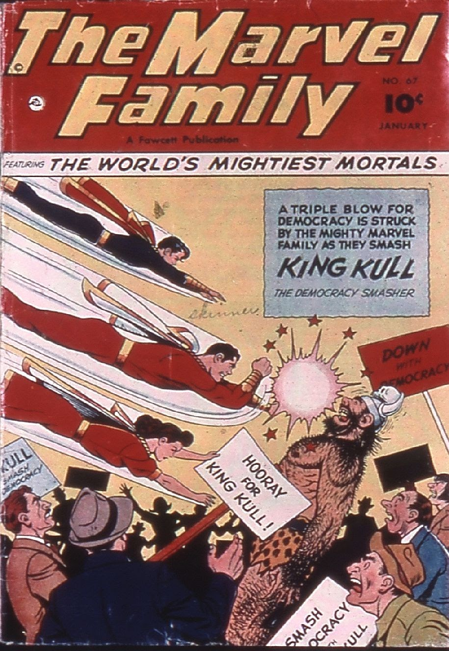 The Marvel Family 67 Page 1