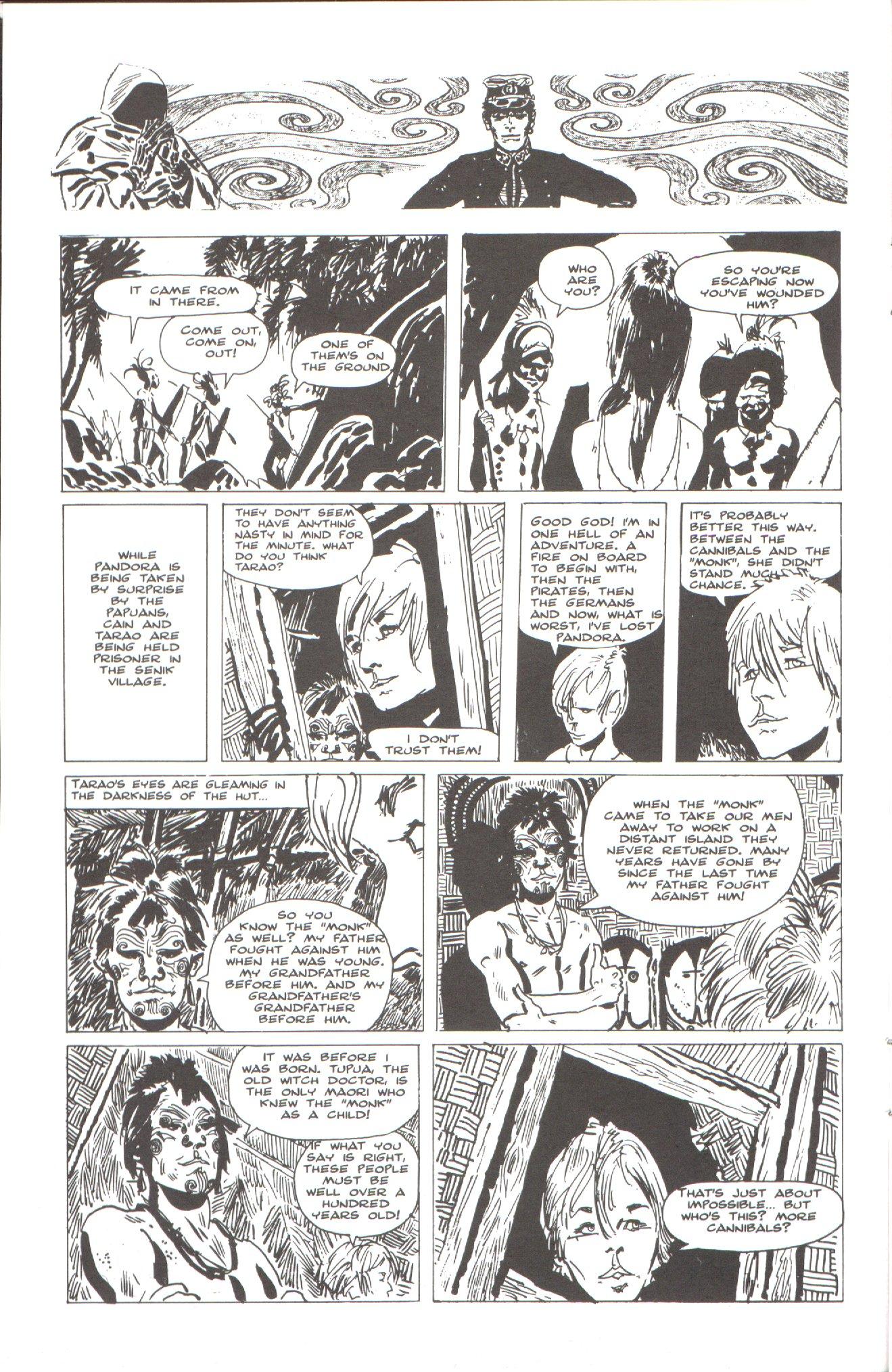 Read online Corto Maltese: Ballad of the Salt Sea comic -  Issue #2 - 12