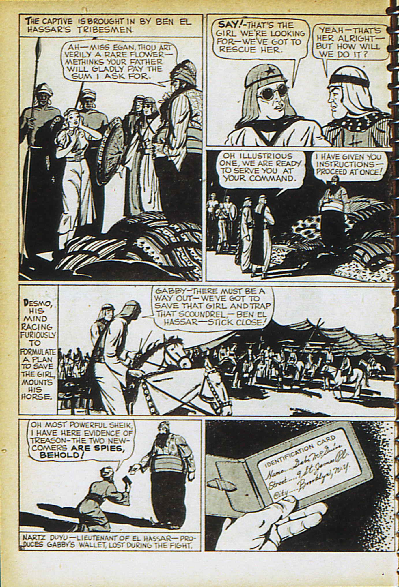 Read online Adventure Comics (1938) comic -  Issue #30 - 33