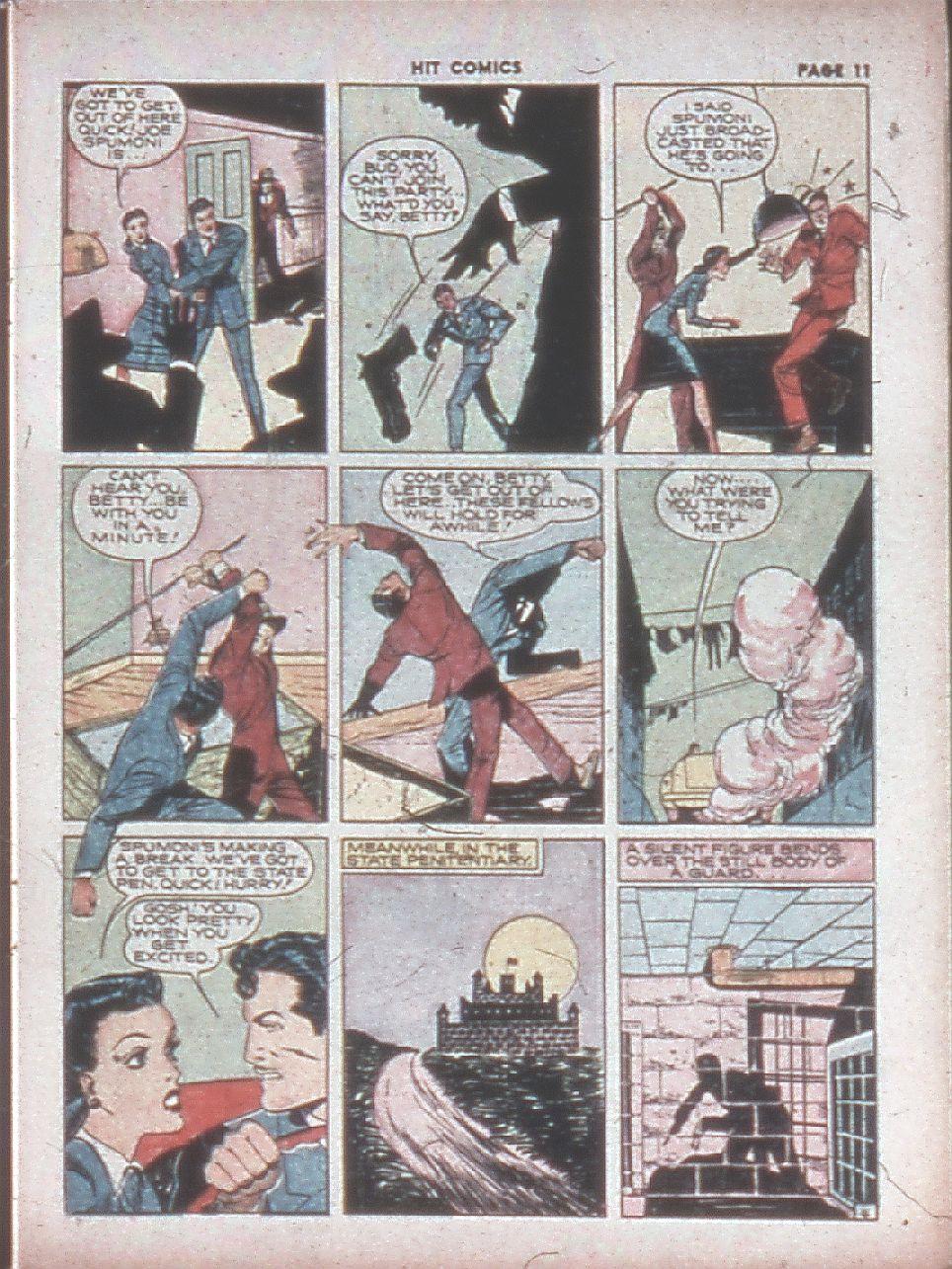 Read online Hit Comics comic -  Issue #8 - 13