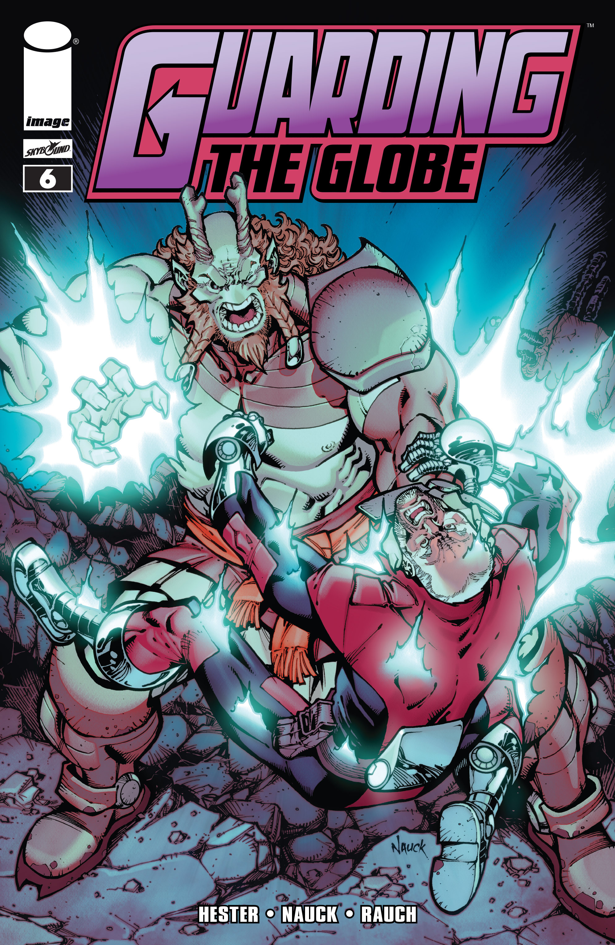 Read online Guarding the Globe (2012) comic -  Issue #6 - 1