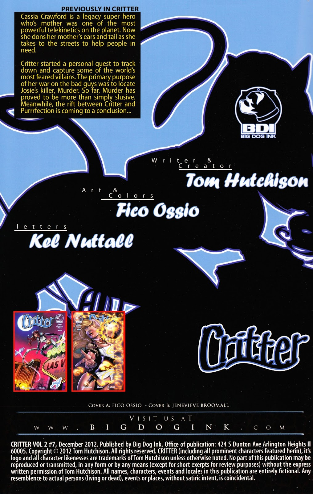 Read online Critter (2012) comic -  Issue #7 - 2