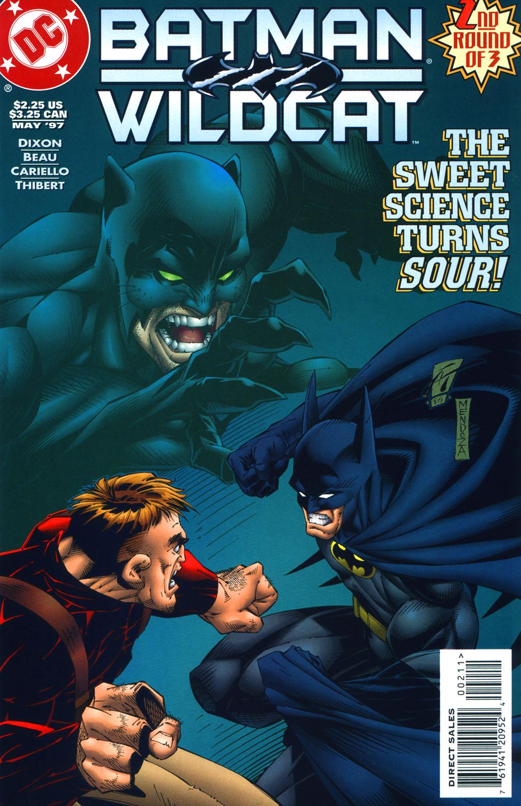 Batman/Wildcat (1997) 2 Page 1