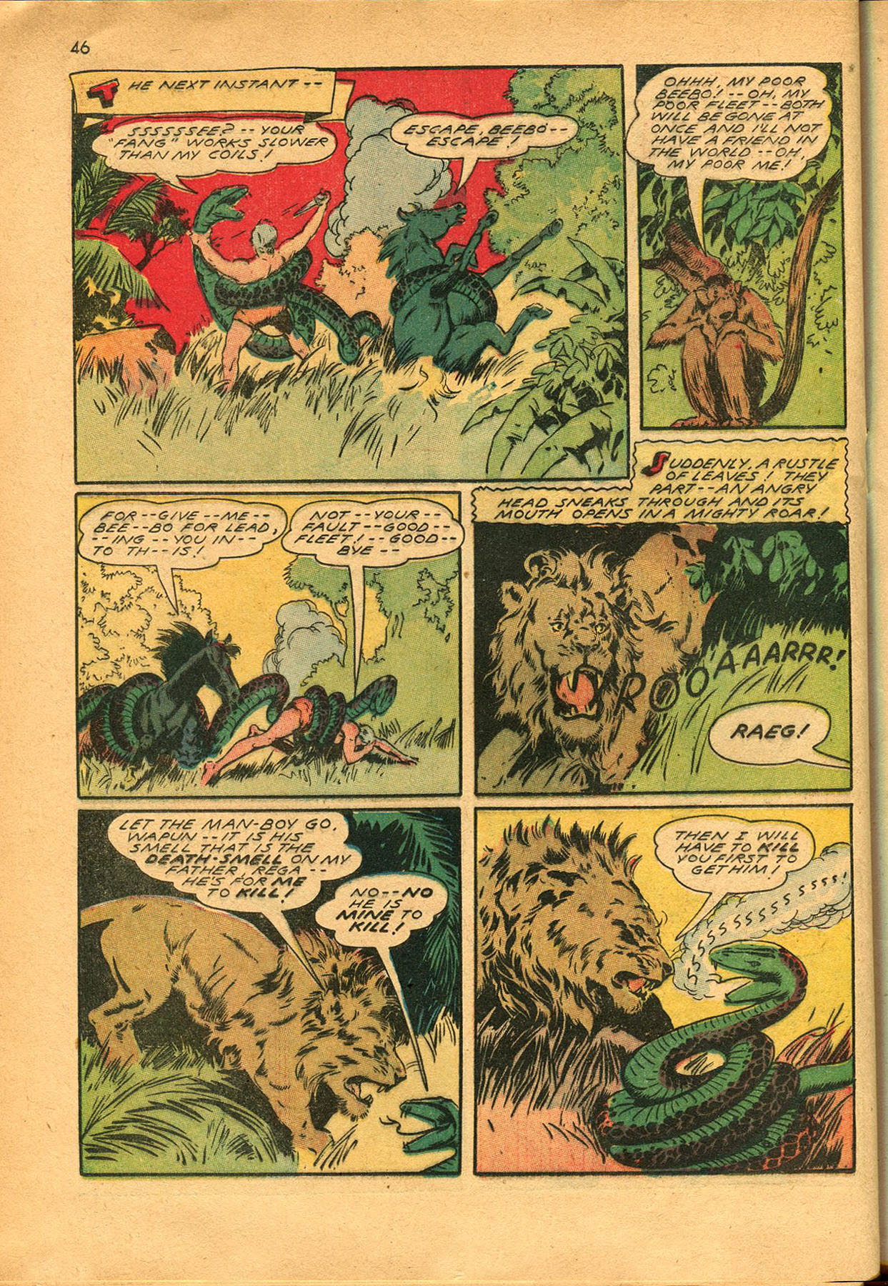 Read online Shadow Comics comic -  Issue #23 - 46