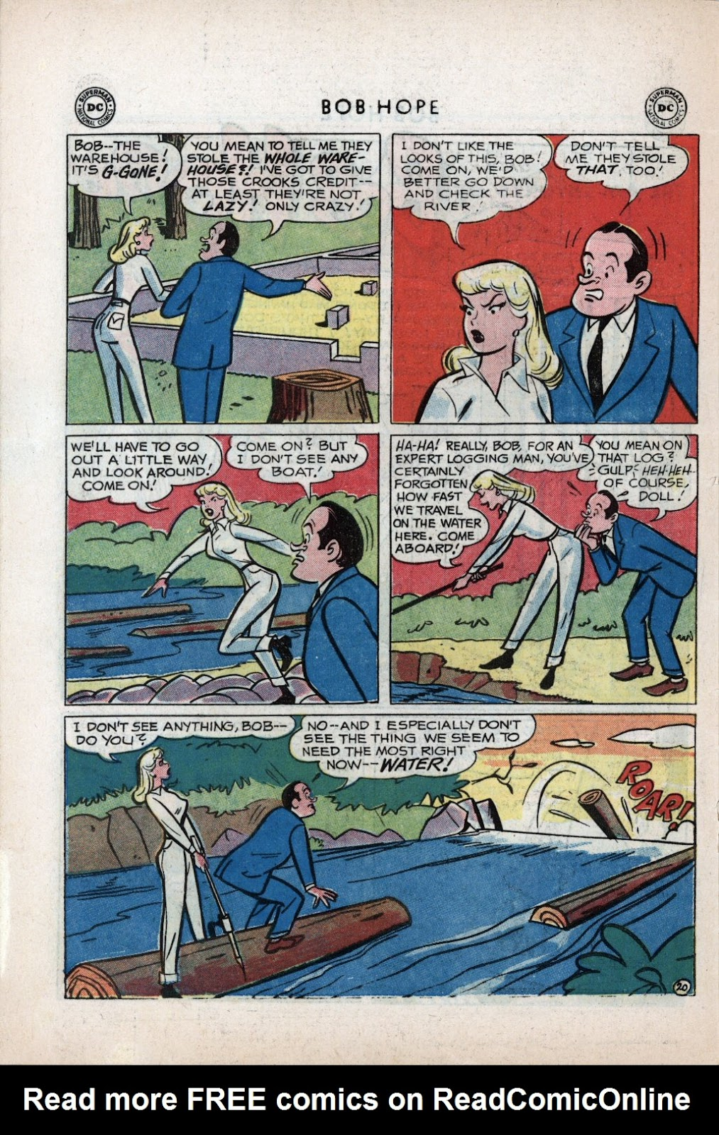 The Adventures of Bob Hope issue 59 - Page 26