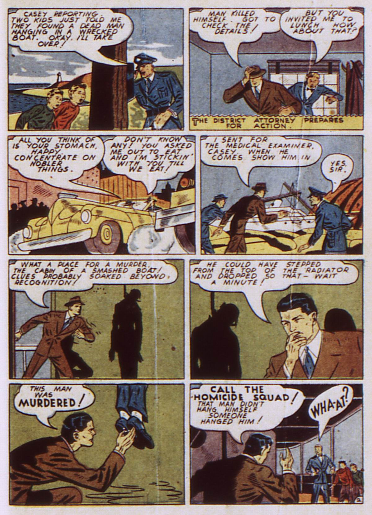 Read online Detective Comics (1937) comic -  Issue #52 - 53