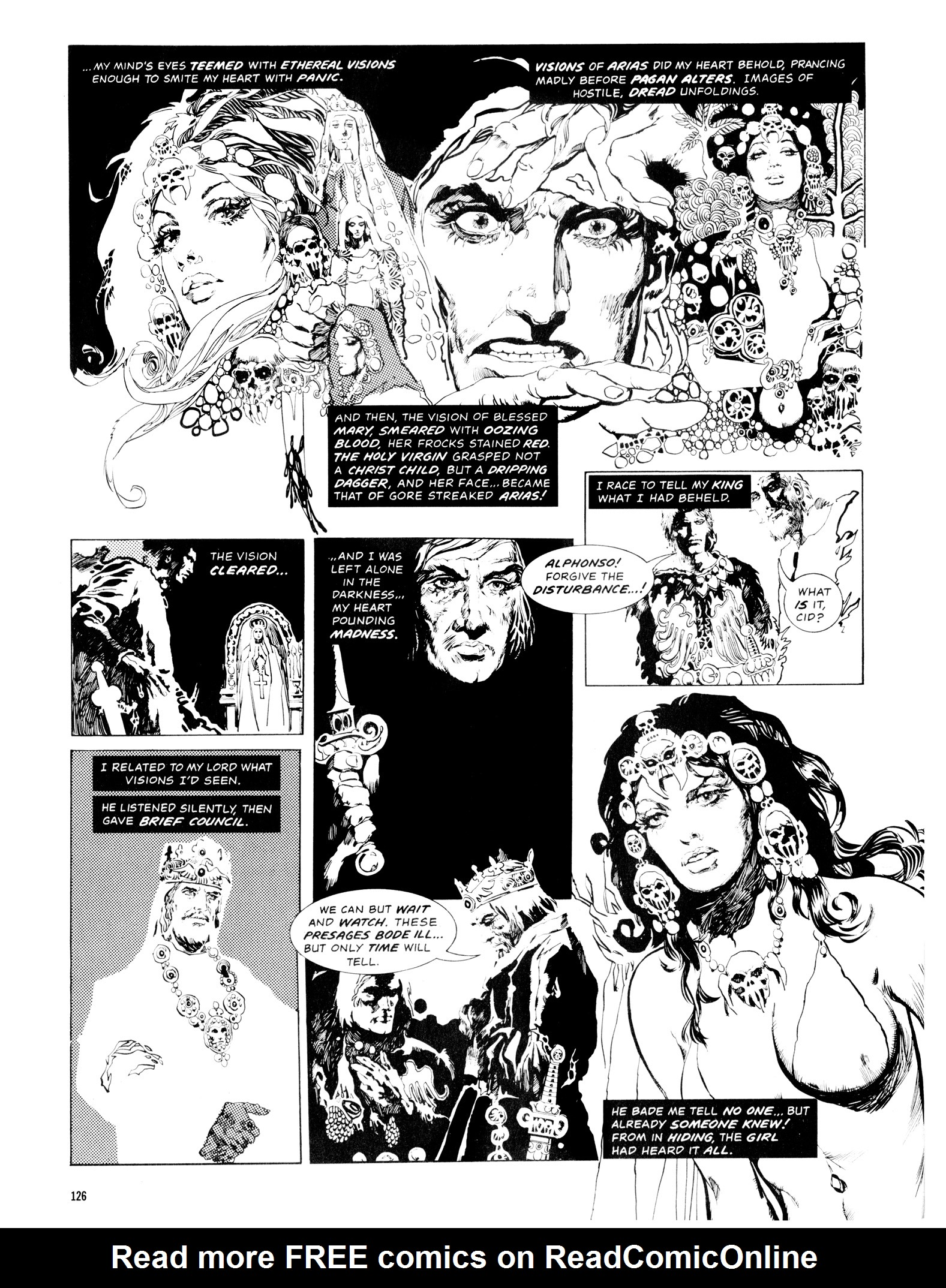 Read online Eerie Archives comic -  Issue # TPB 14 - 127