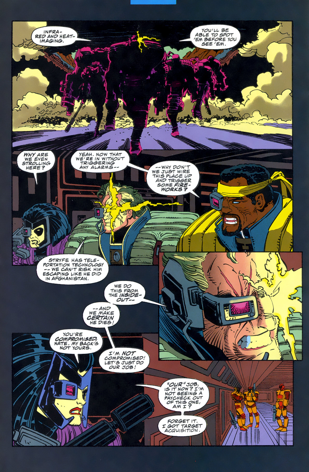 Read online Cable - Blood and Metal comic -  Issue #2 - 30
