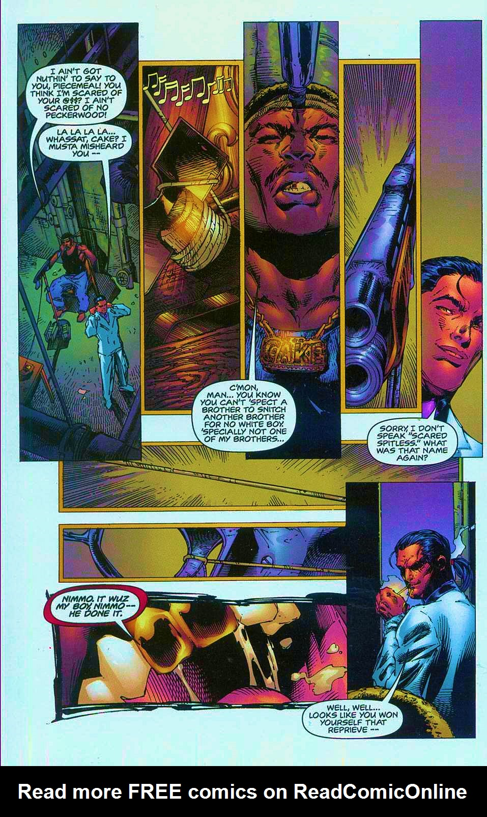 Read online Overkill: Witchblade/Aliens/Darkness/Predator comic -  Issue #1 - 15