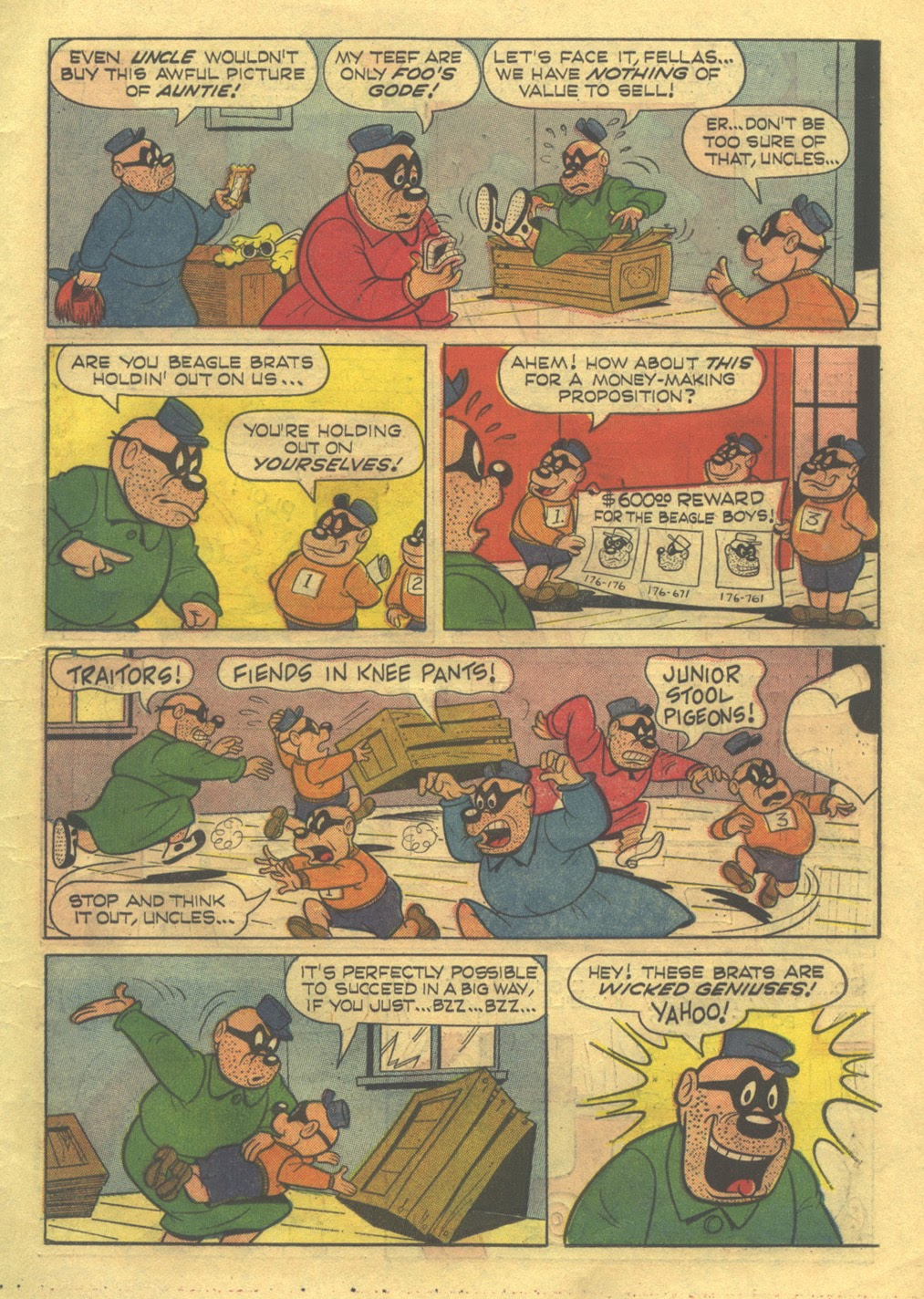 Walt Disney THE BEAGLE BOYS issue 3 - Page 11
