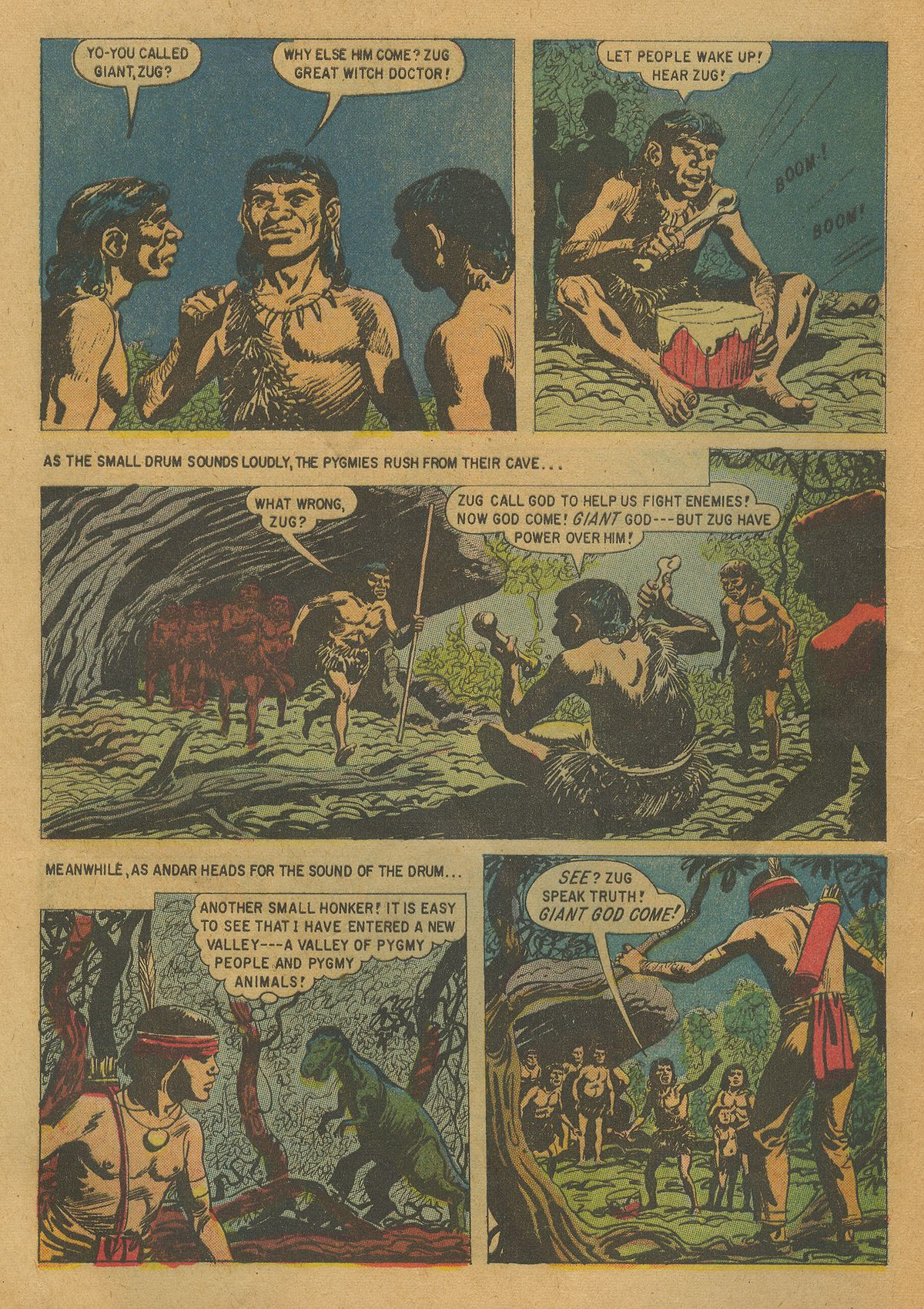 Read online Turok, Son of Stone comic -  Issue #17 - 8