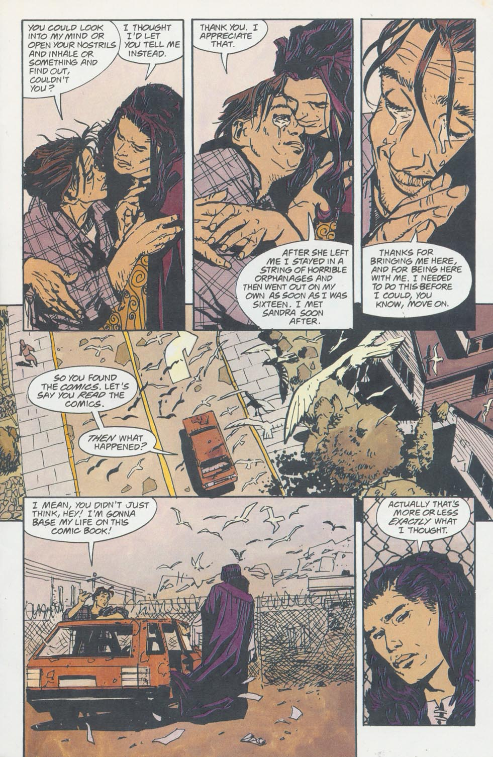 Read online Enigma comic -  Issue #8 - 12