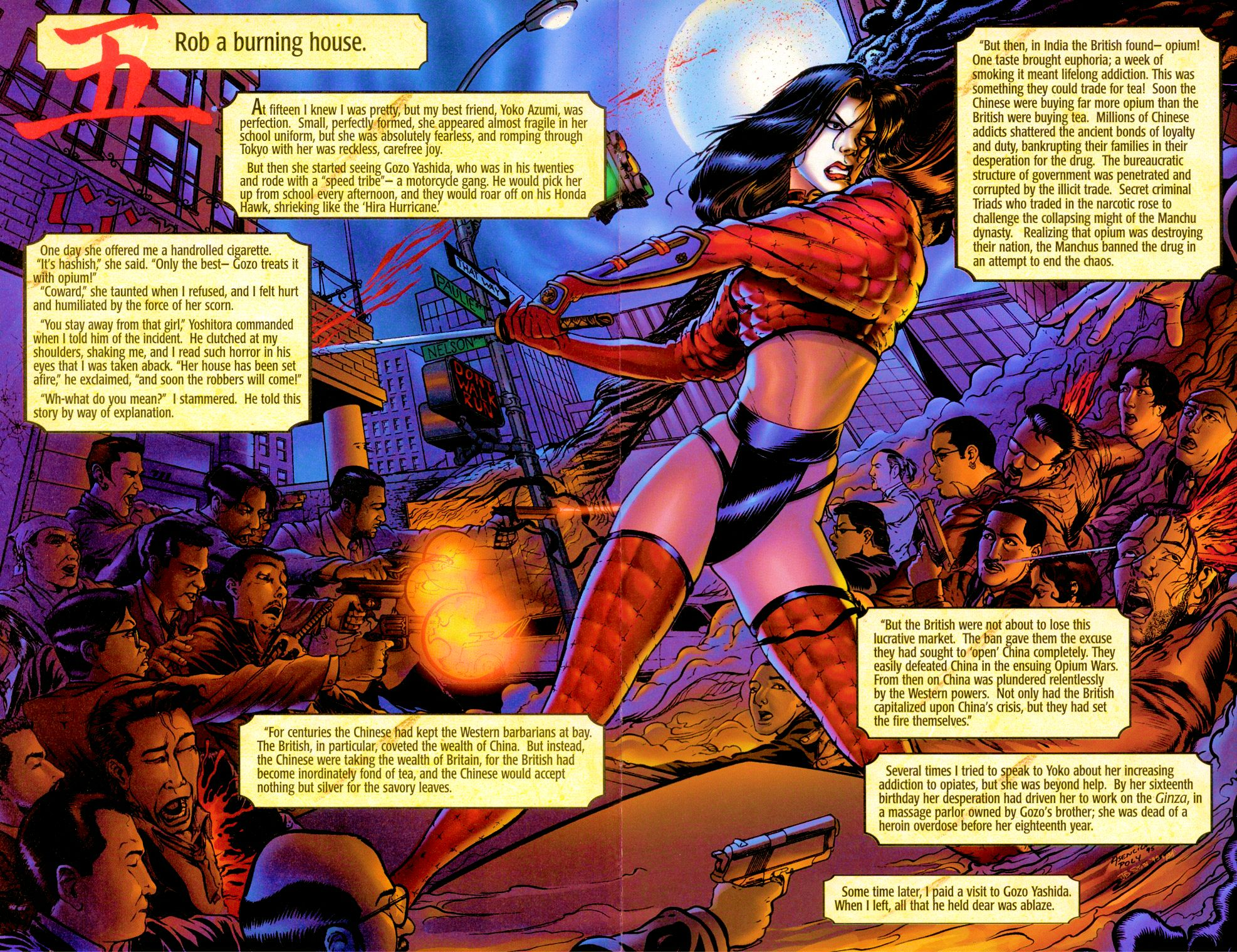 Read online Shi: Senryaku comic -  Issue #1 - 10