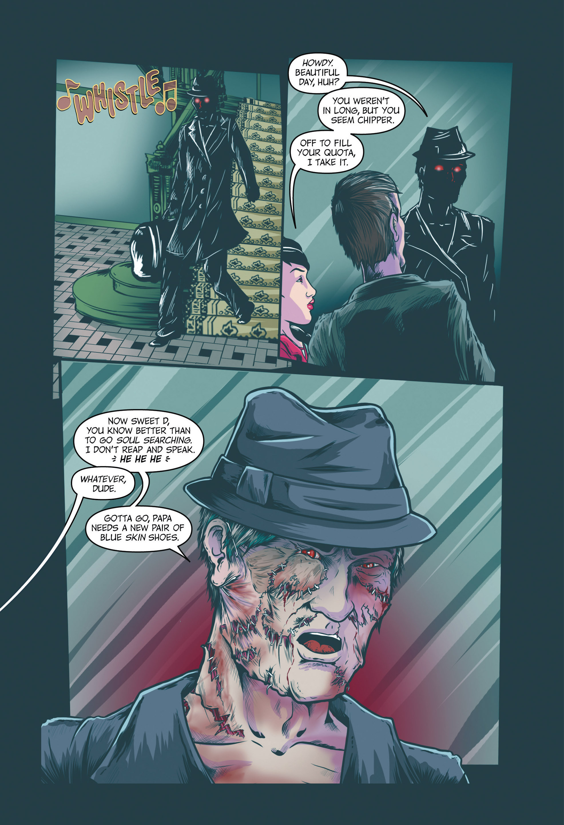 Read online Redemption Heights comic -  Issue # Full - 25
