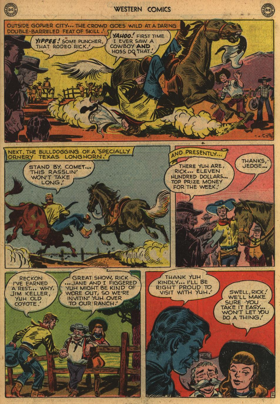 Western Comics issue 1 - Page 15