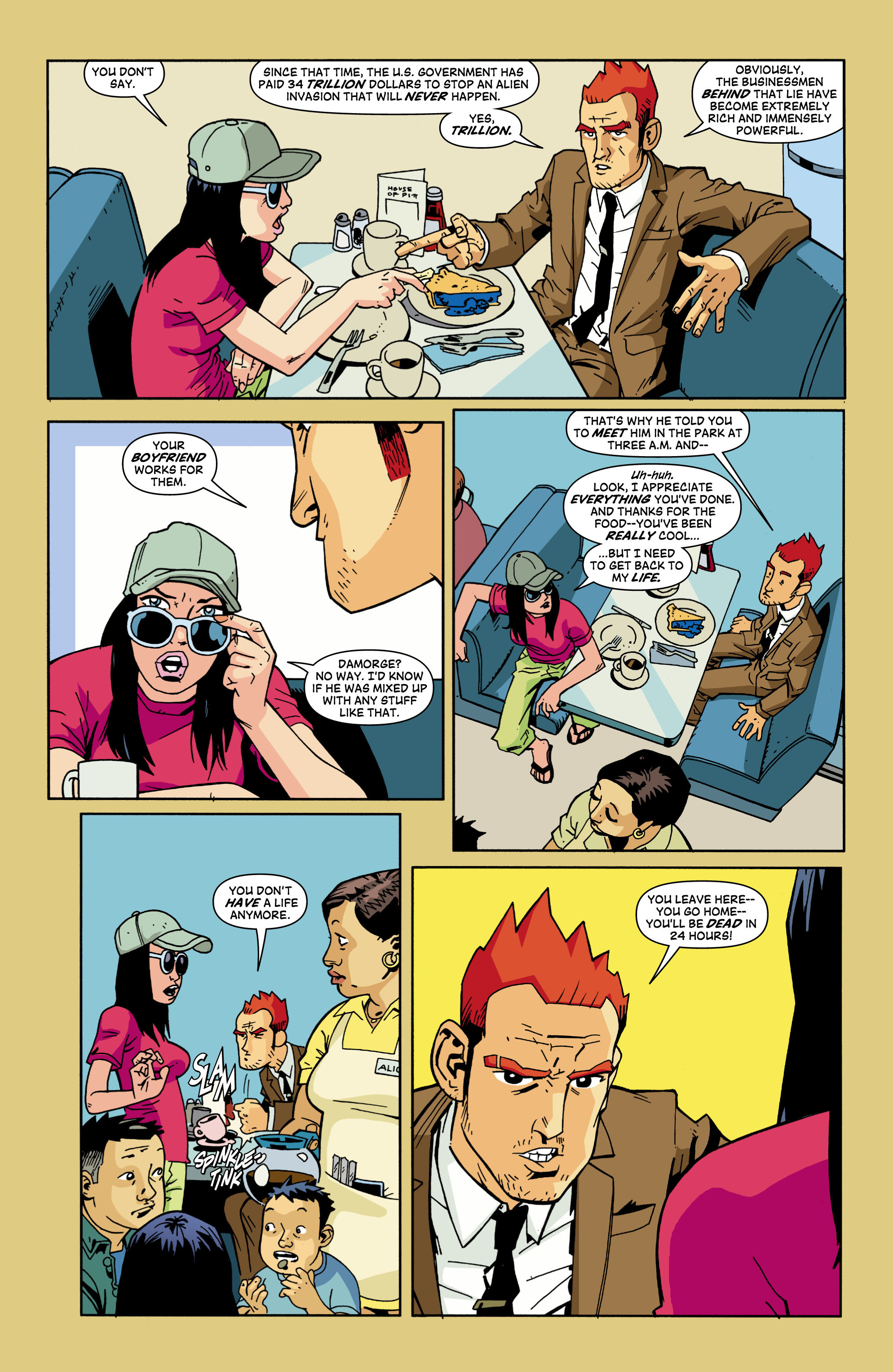 Read online Red Herring comic -  Issue #2 - 8