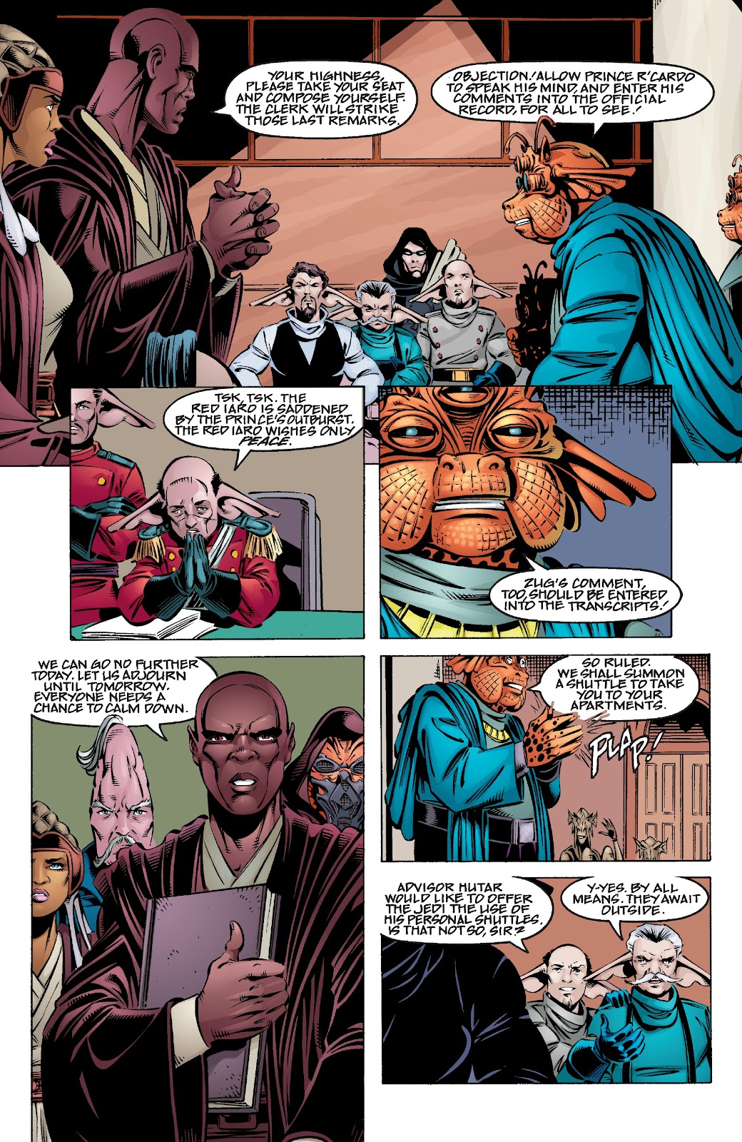 Read online Star Wars Legends Epic Collection: The Menace Revealed comic -  Issue # TPB (Part 4) - 9