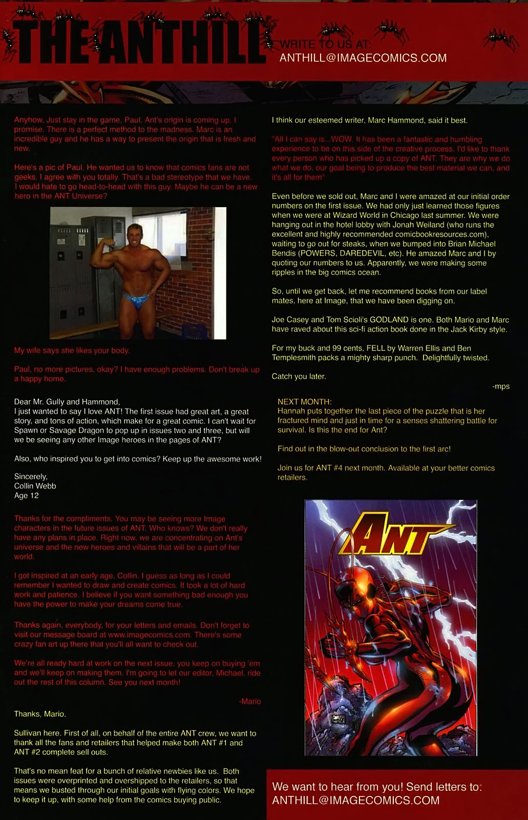 Read online Ant comic -  Issue #3 - 26