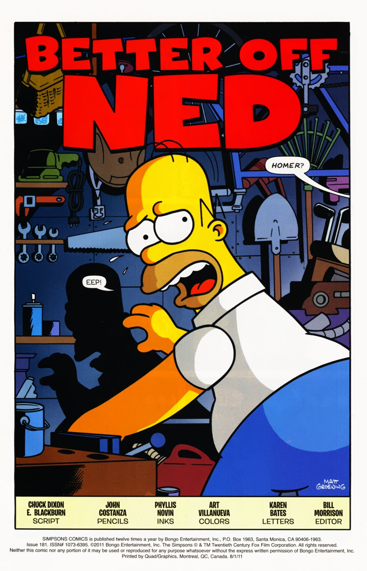 Read online Simpsons Comics comic -  Issue #181 - 2