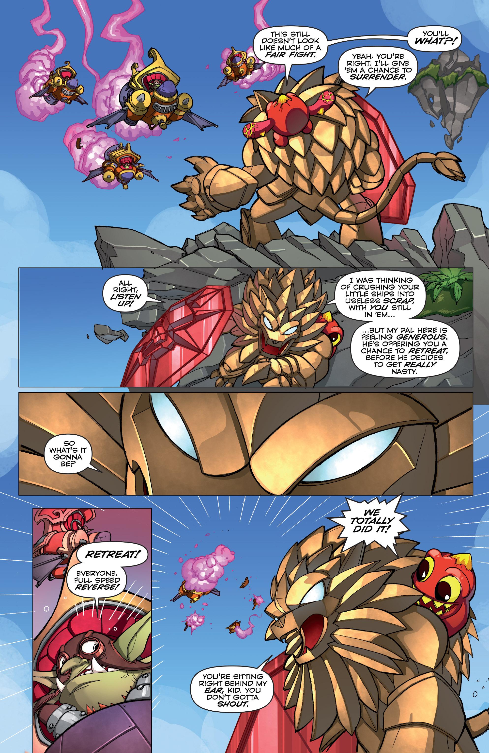 Read online Skylanders comic -  Issue #2 - 17