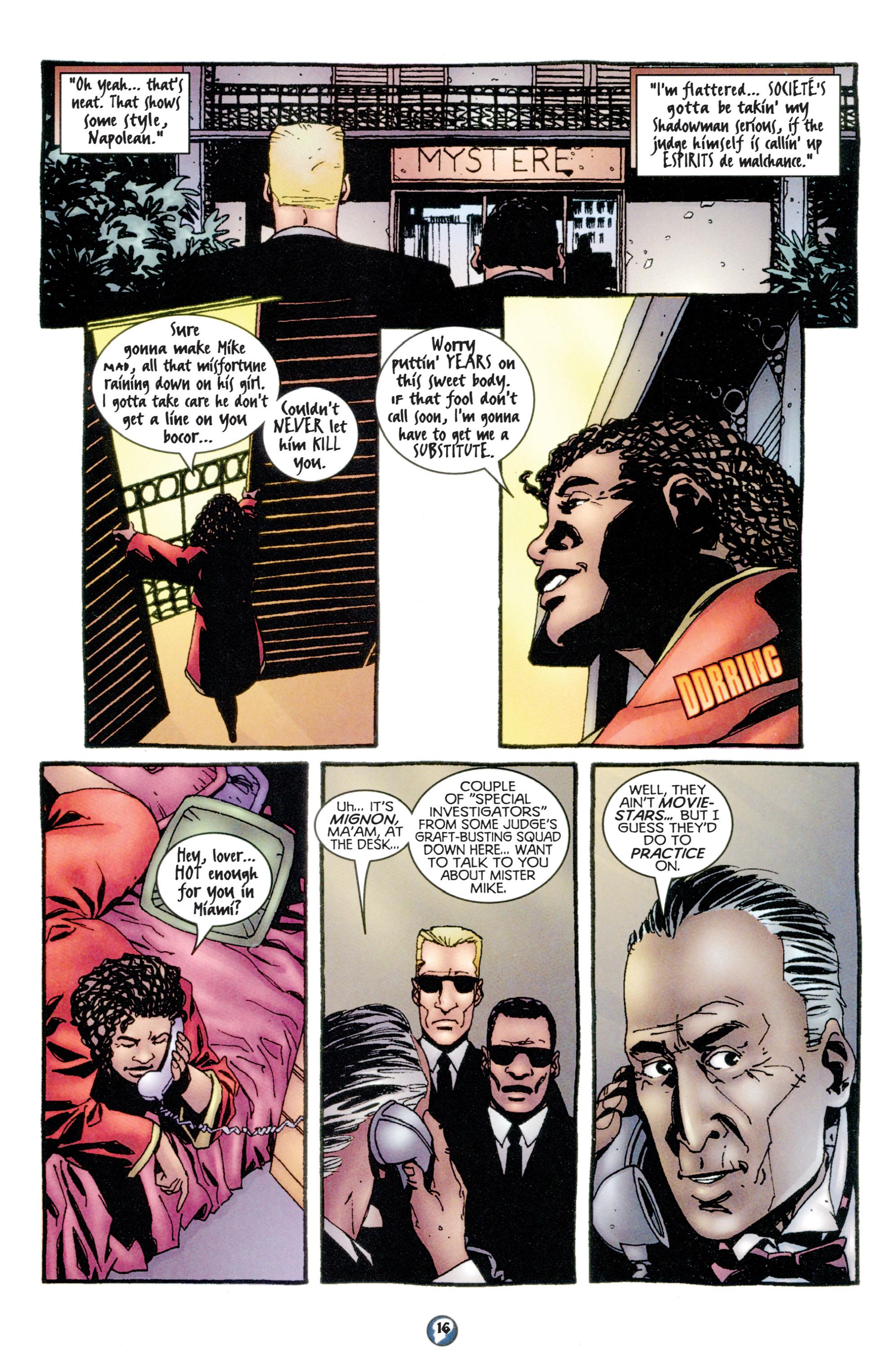 Read online Shadowman (1997) comic -  Issue #11 - 13