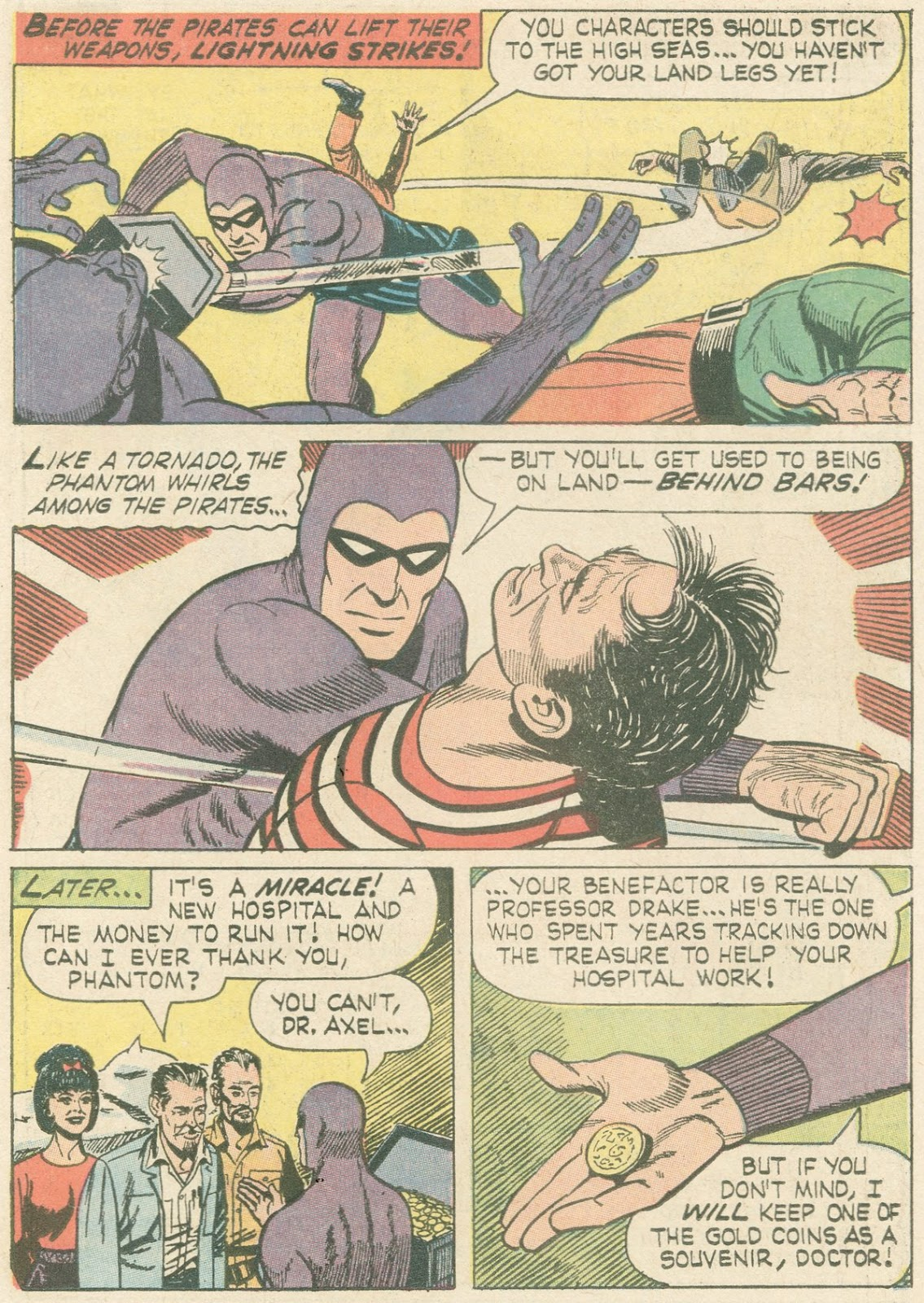 The Phantom (1966) issue 21 - Page 14