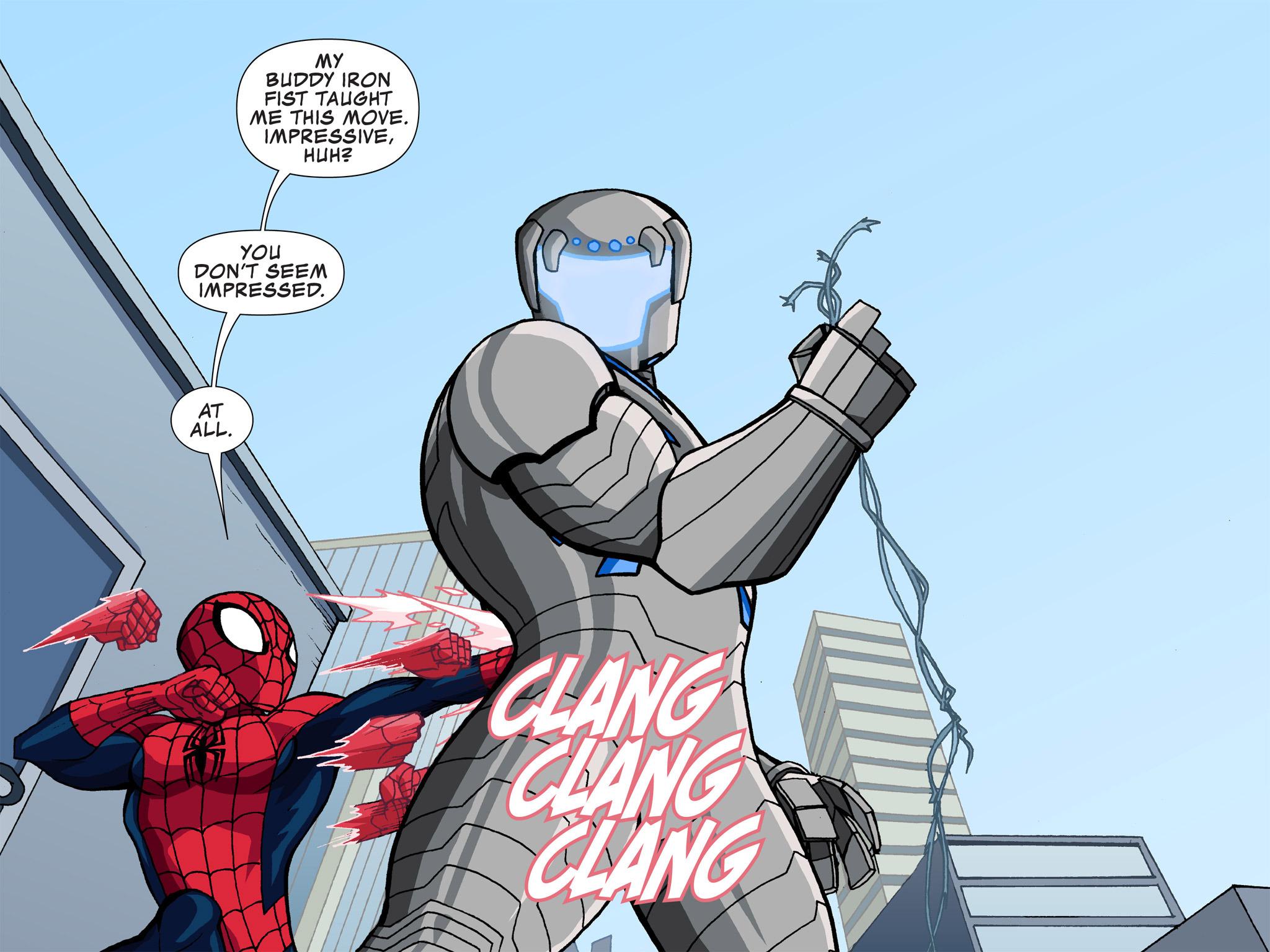 Read online Ultimate Spider-Man (Infinite Comics) (2015) comic -  Issue #3 - 11
